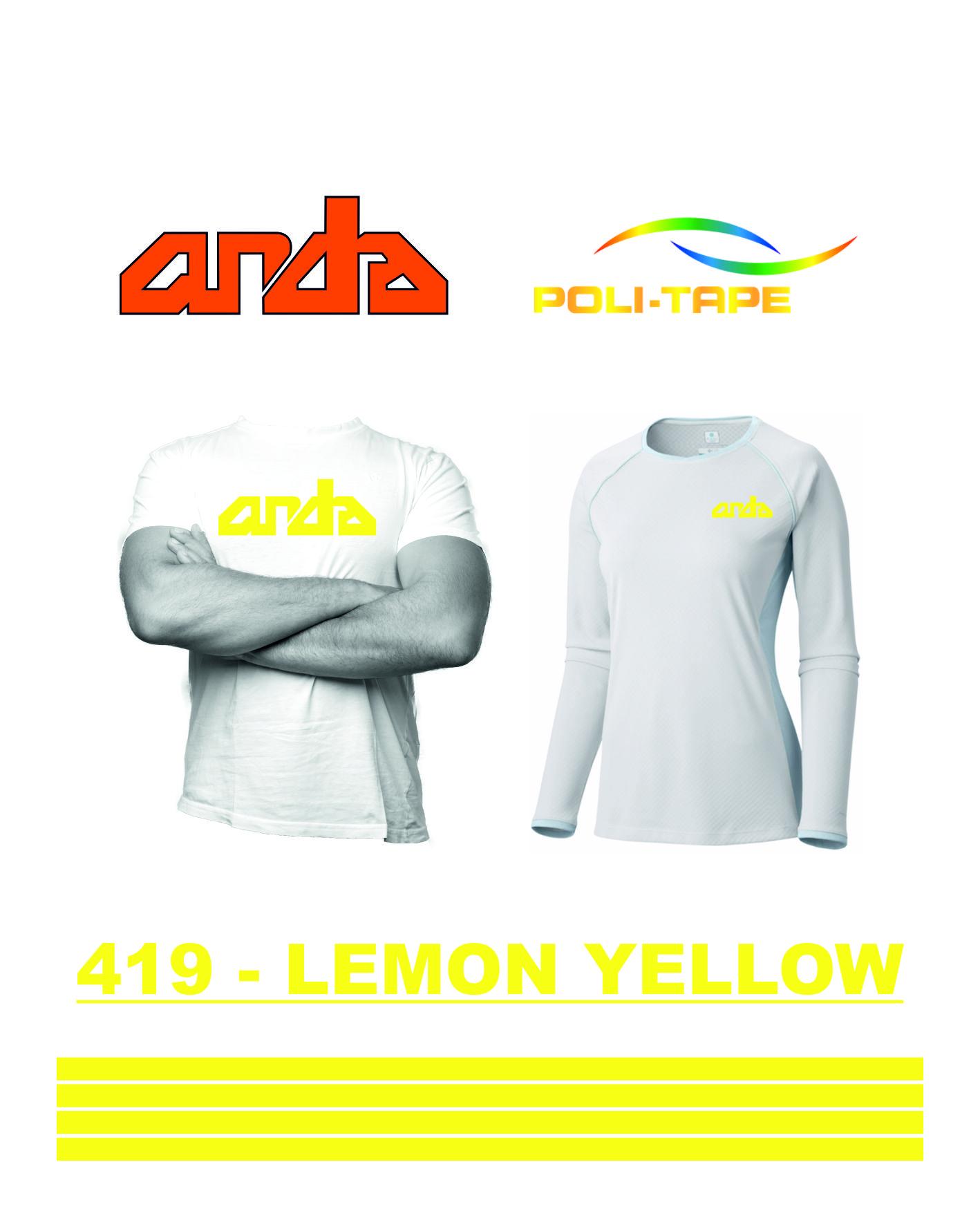 Poli-Flex Premium-Limon Sarısı-419 1
