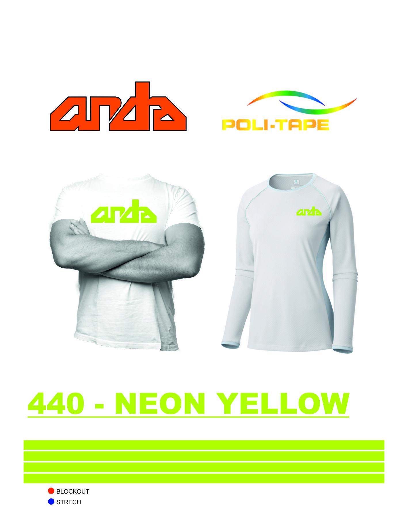 Poli-Flex Premium-Neon Sarı-440 1