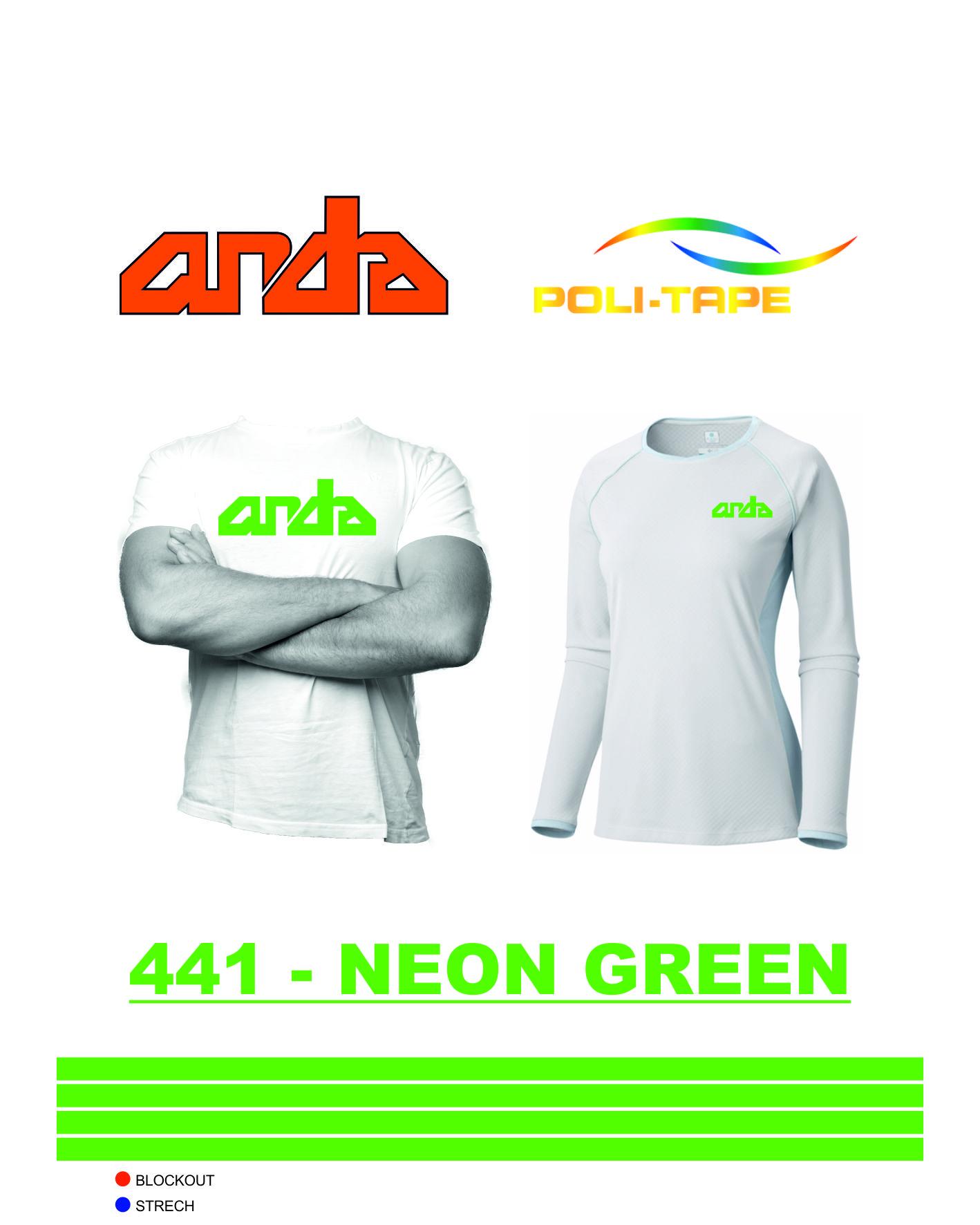 Poli-Flex Premium-Neon Yeşil-441 1