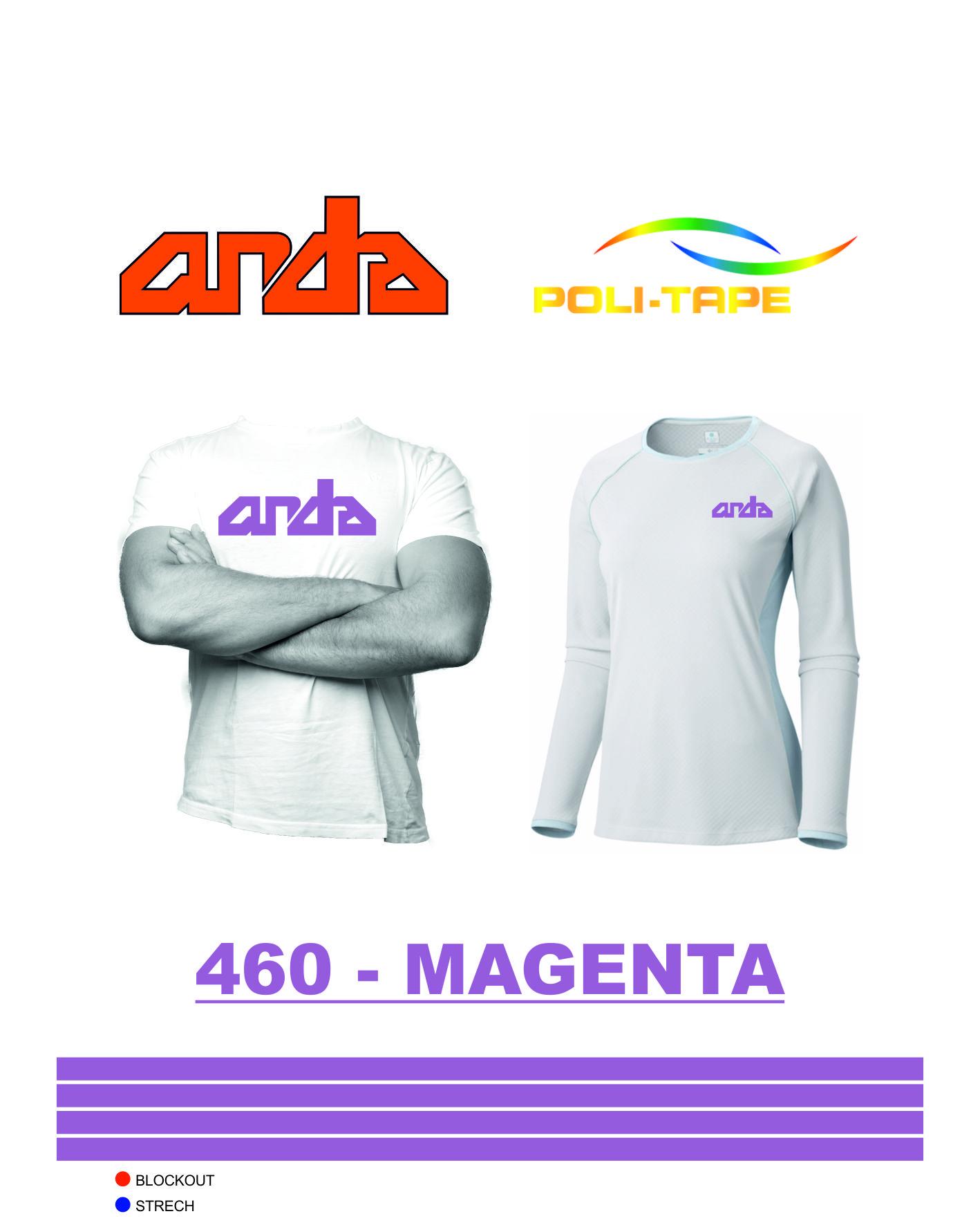 Poli-Flex Premium-Magenta-460 1