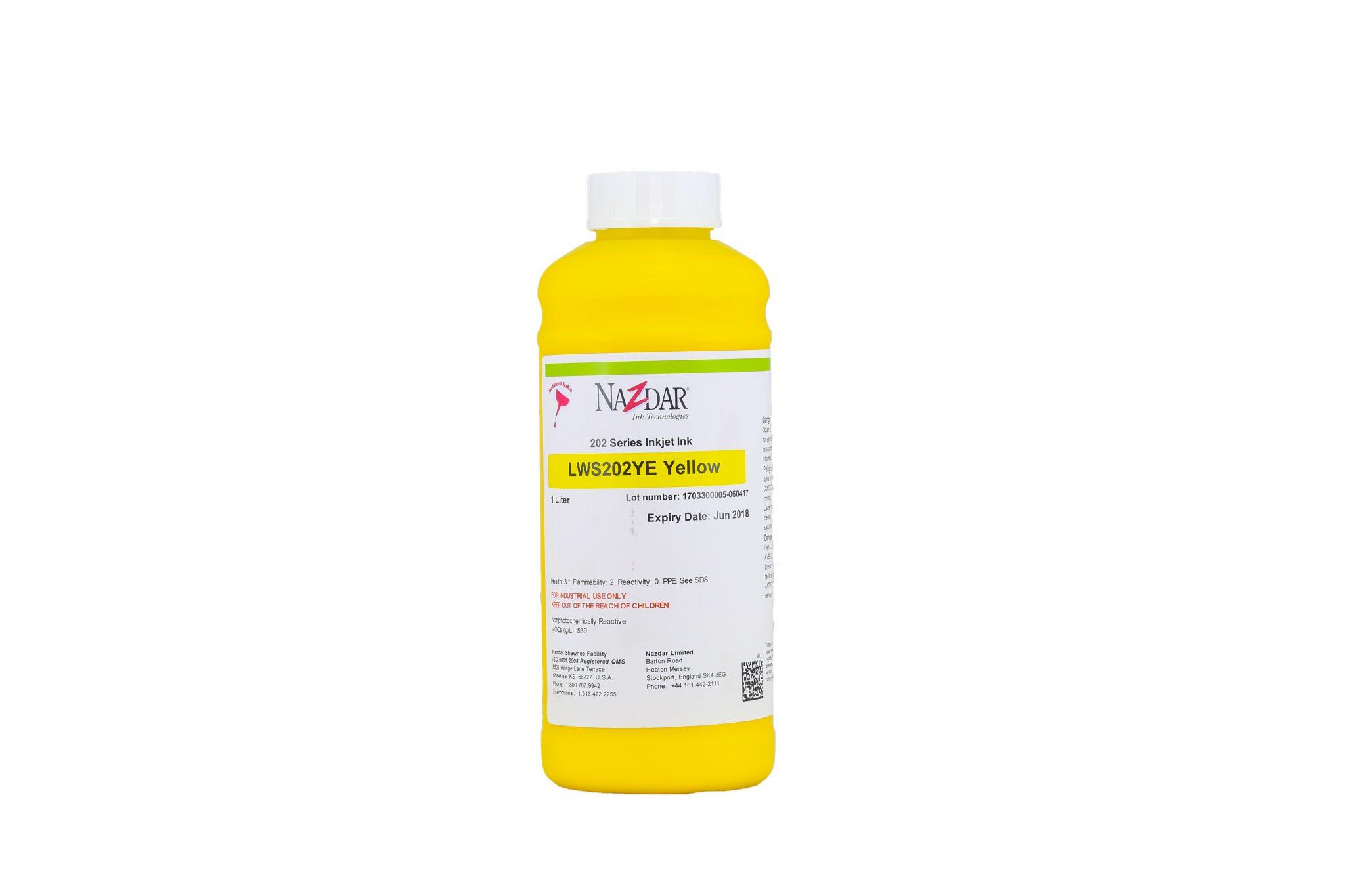 Eco-Solvent Murekkep Nazdar 202-Yellow 1
