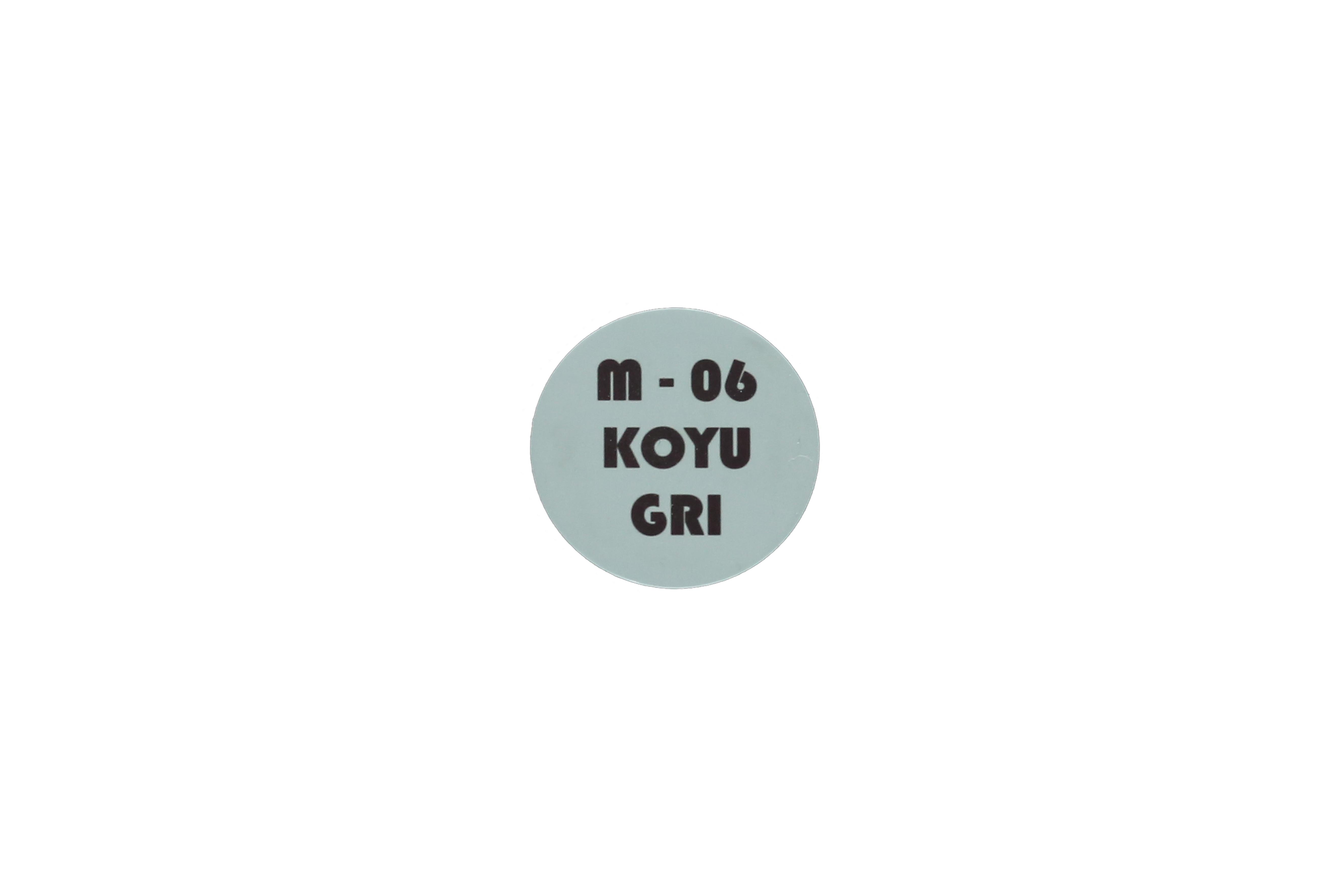 Koyu Gri Metal Göbek-5cm 1