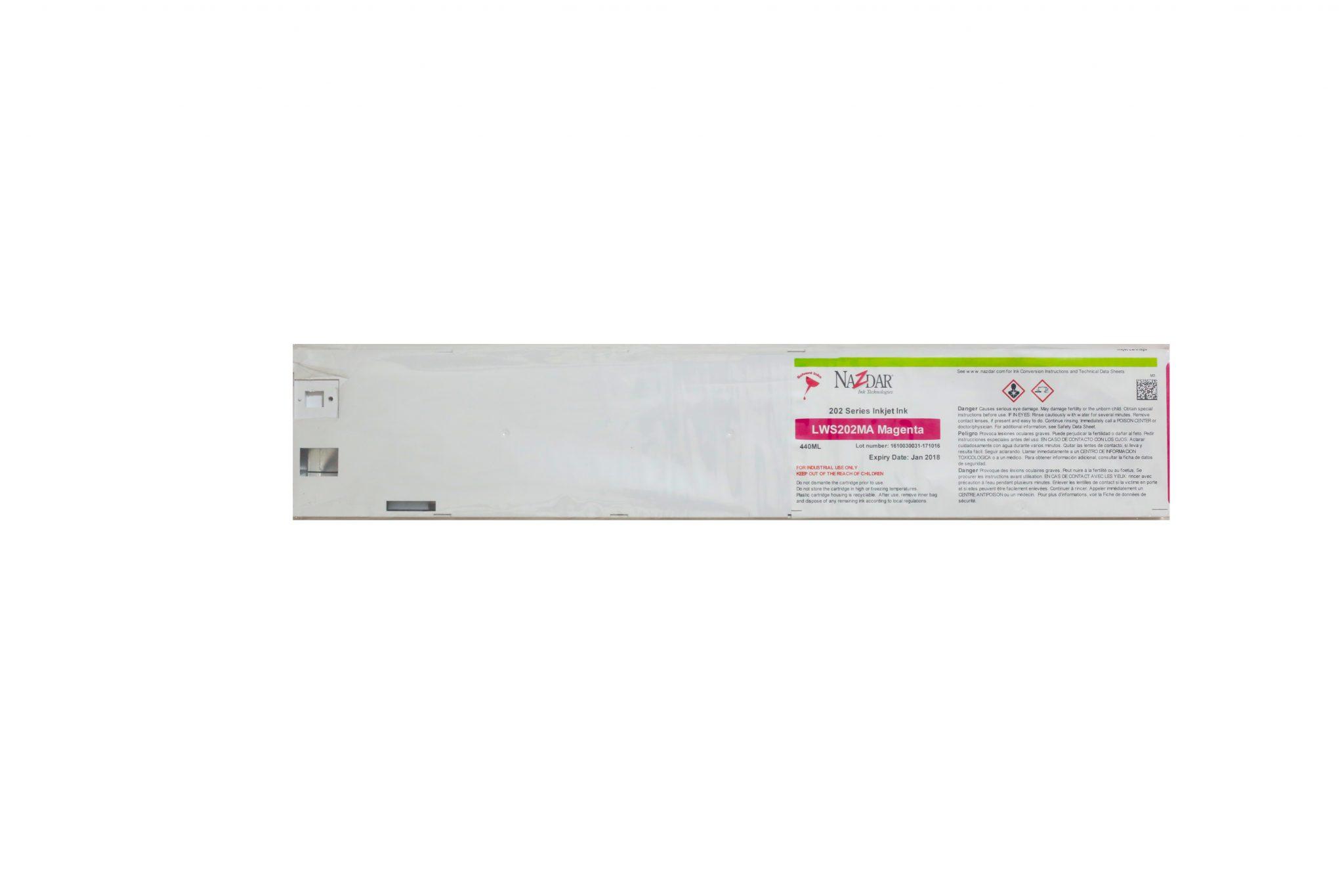 Eco-Solvent Kartuş Nazdar 202-Magenta 1