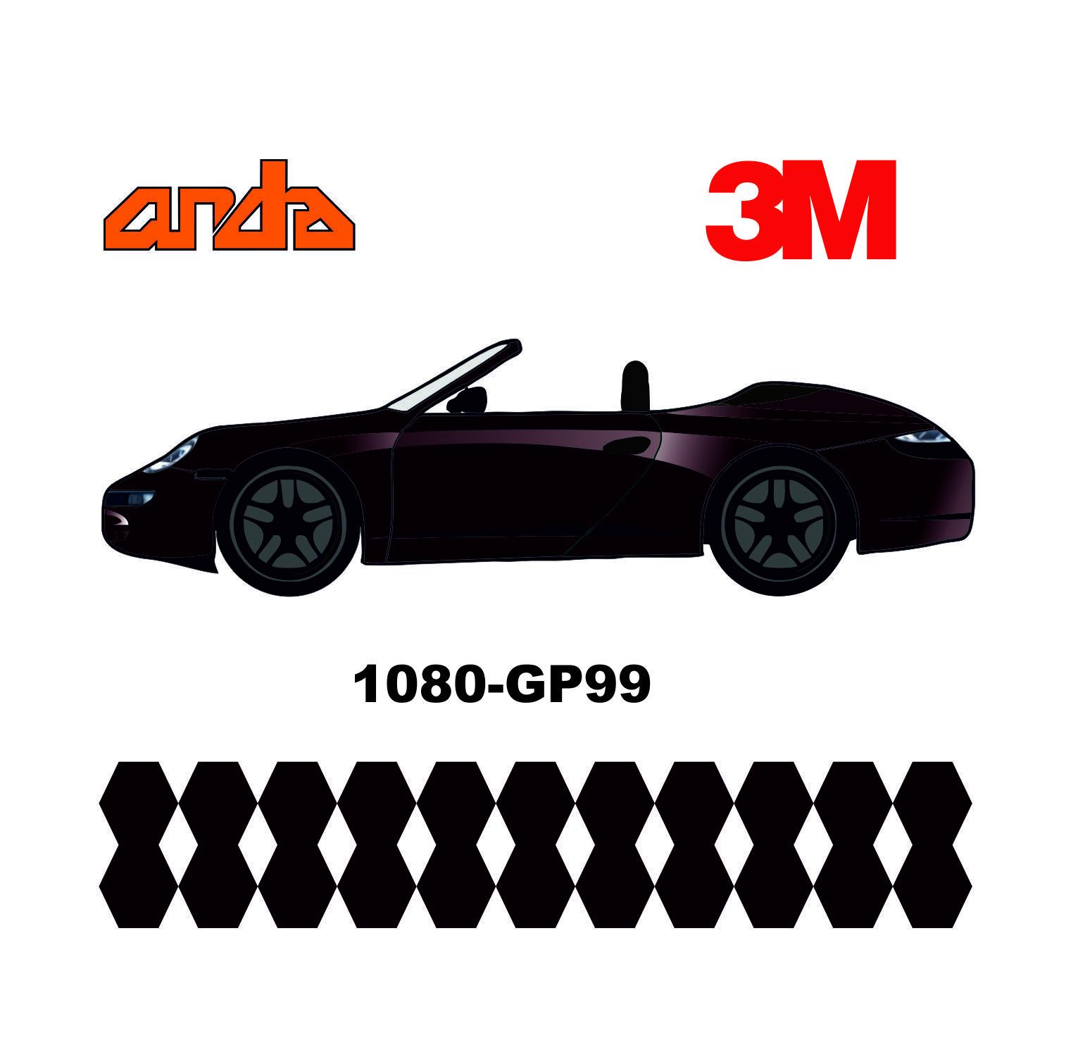 3M 1080-GP99 Parlak Karagül 1