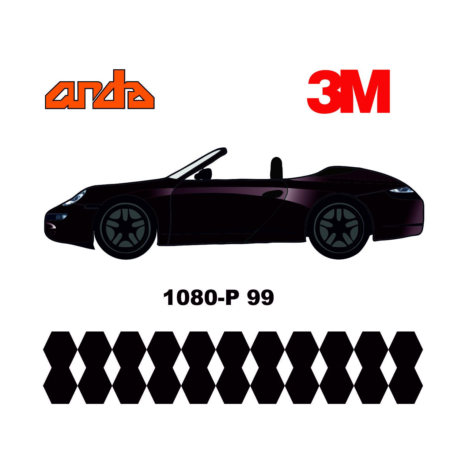 3M 1080-G227 Parlak Metalik Mavi 1