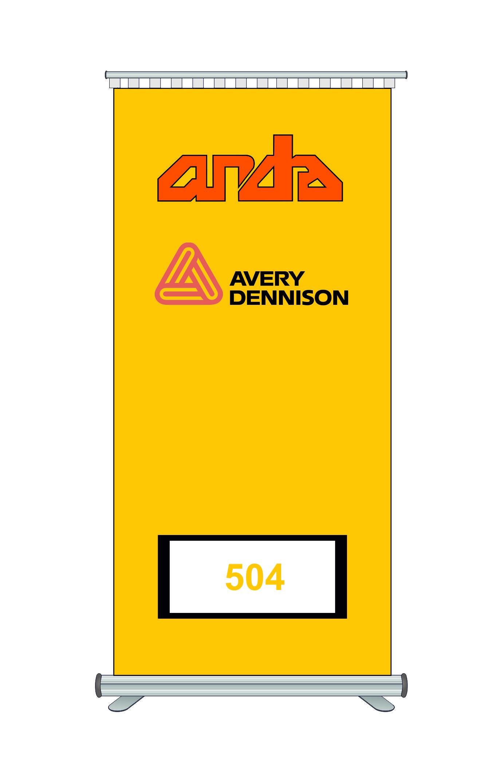 Avery Dennison 504 Kesim Folyosu-Matt Primrose Yellow 1