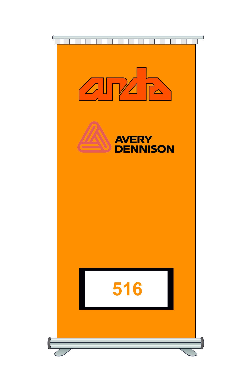 Avery Dennison 516 Kesim Folyosu-Matt Light Orange 1