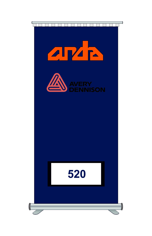 Avery Dennison 520 Kesim Folyosu-Gloss Ultramarine Blue 1