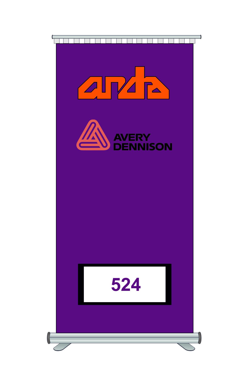 Avery Dennison 524 Kesim Folyosu-Gloss Magenta 1