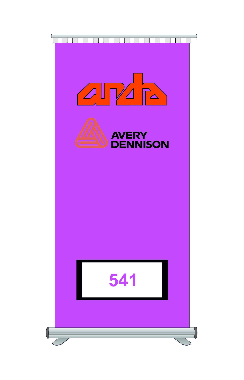 Avery Dennison 541 Kesim Folyosu-Matt Pink 1