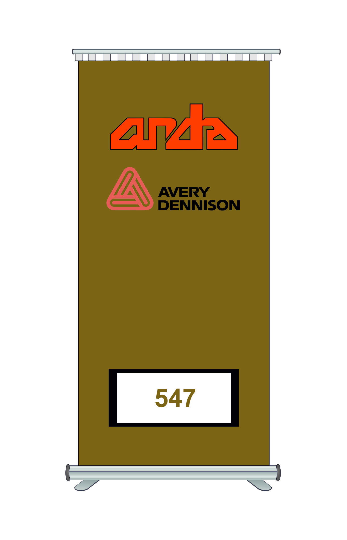 Avery Dennison 547 Kesim Folyosu-Matt Gold 1