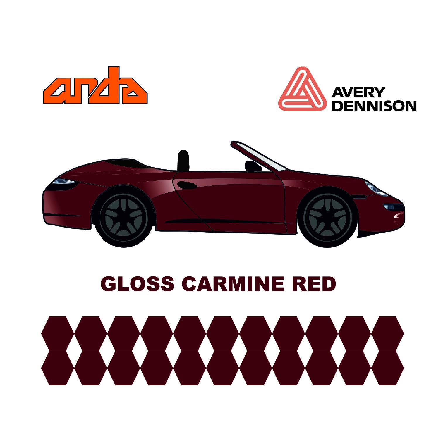 Avery Dennison-SWF Gloss Carmine Red 1