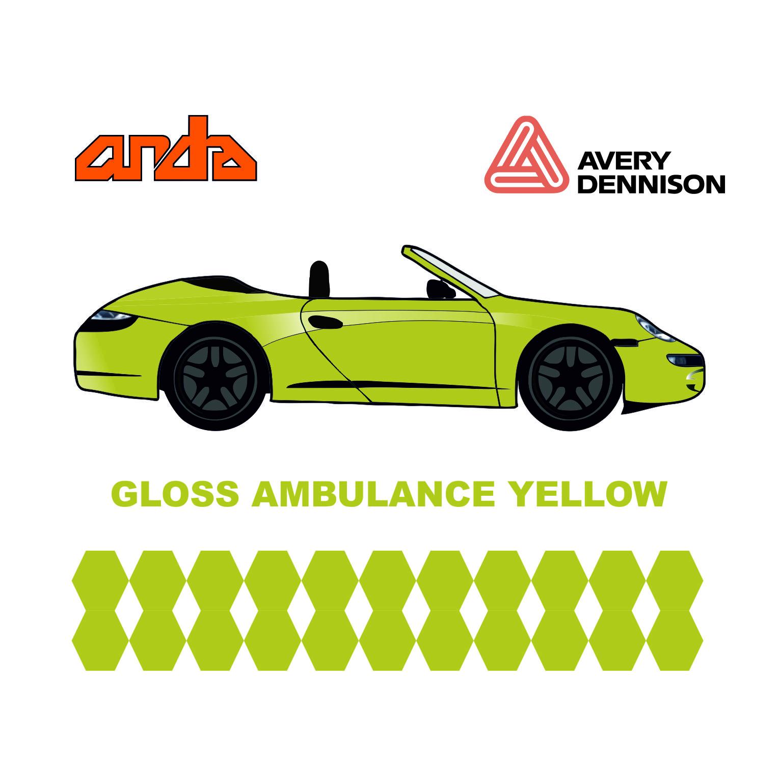 Avery Dennison-SWF Gloss Ambulance Yellow 1
