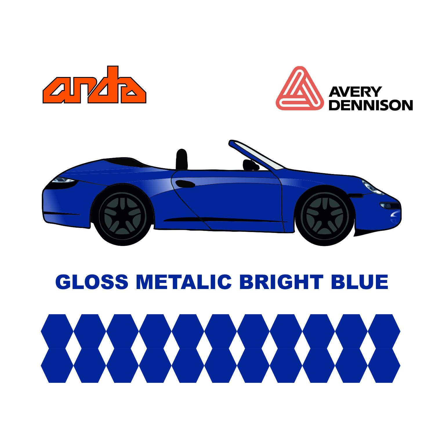Avery Dennison-SWF Gloss Metallic Bright Blue 1