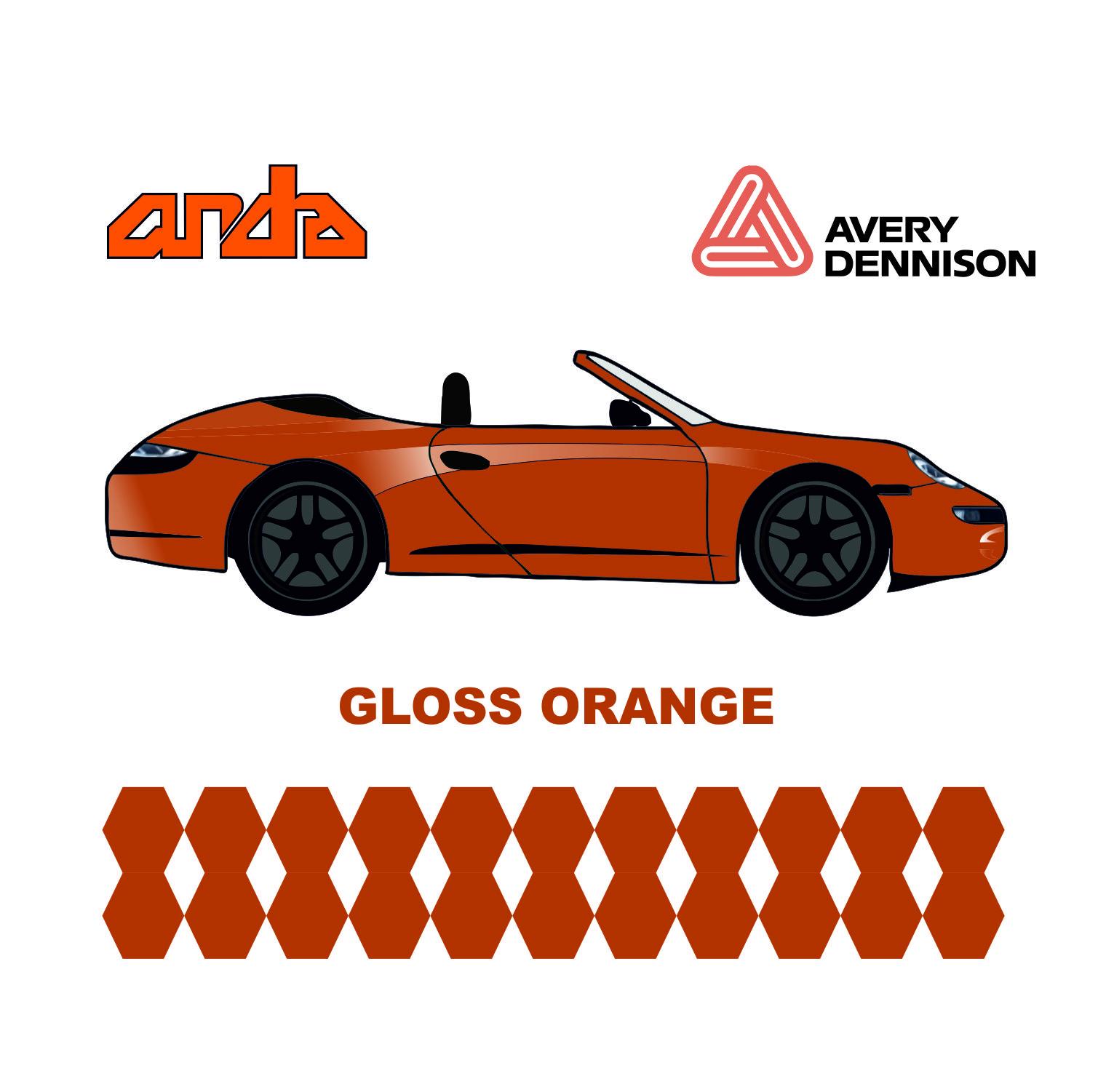 Avery Dennison-SWF Gloss Orange 1