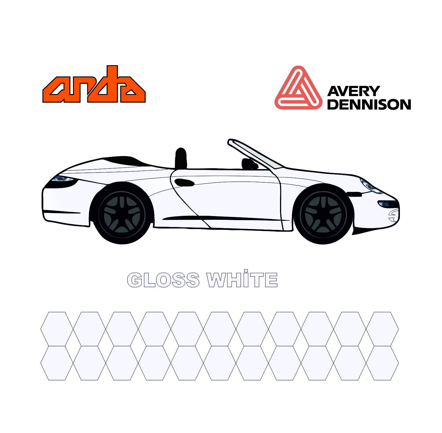 Avery Dennison-SWF Gloss White 1