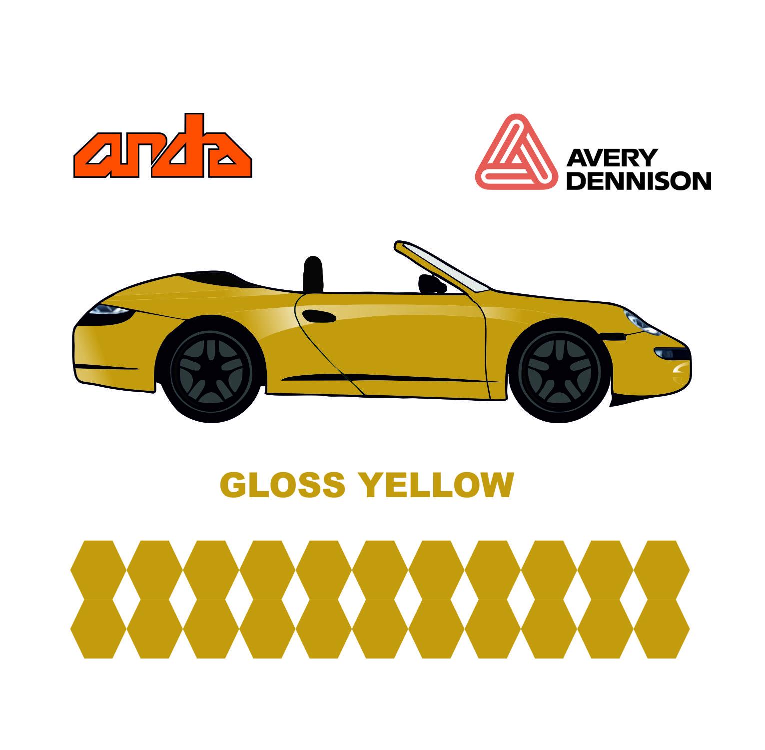 Avery Dennison-SWF Gloss Yellow 1
