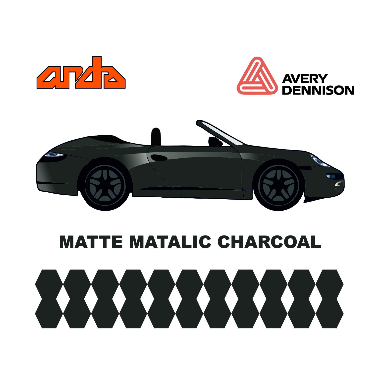 Avery Dennison-SWF Matt Metallic Chorcoal 1