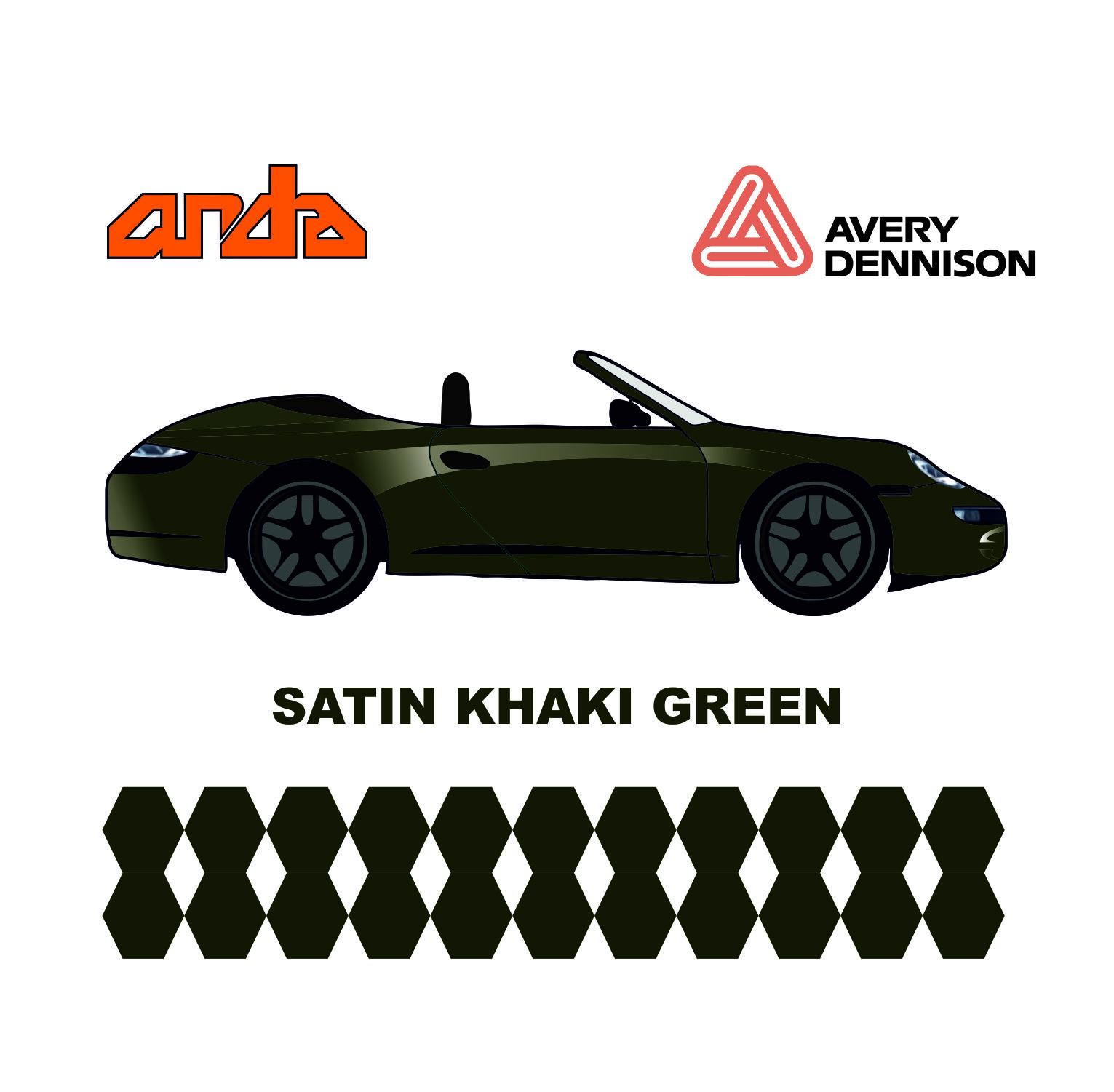 Avery Dennison-SWF Satin Khaki Green 1