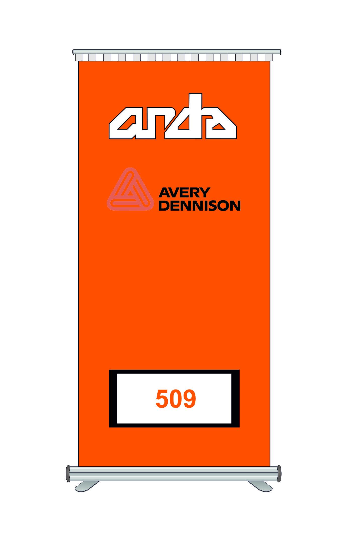 Avery Dennison 509 Kesim Folyosu-Matt Orange 1