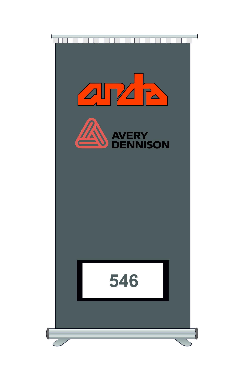 Avery Dennison 546 Kesim Folyosu-Matt Silver 1
