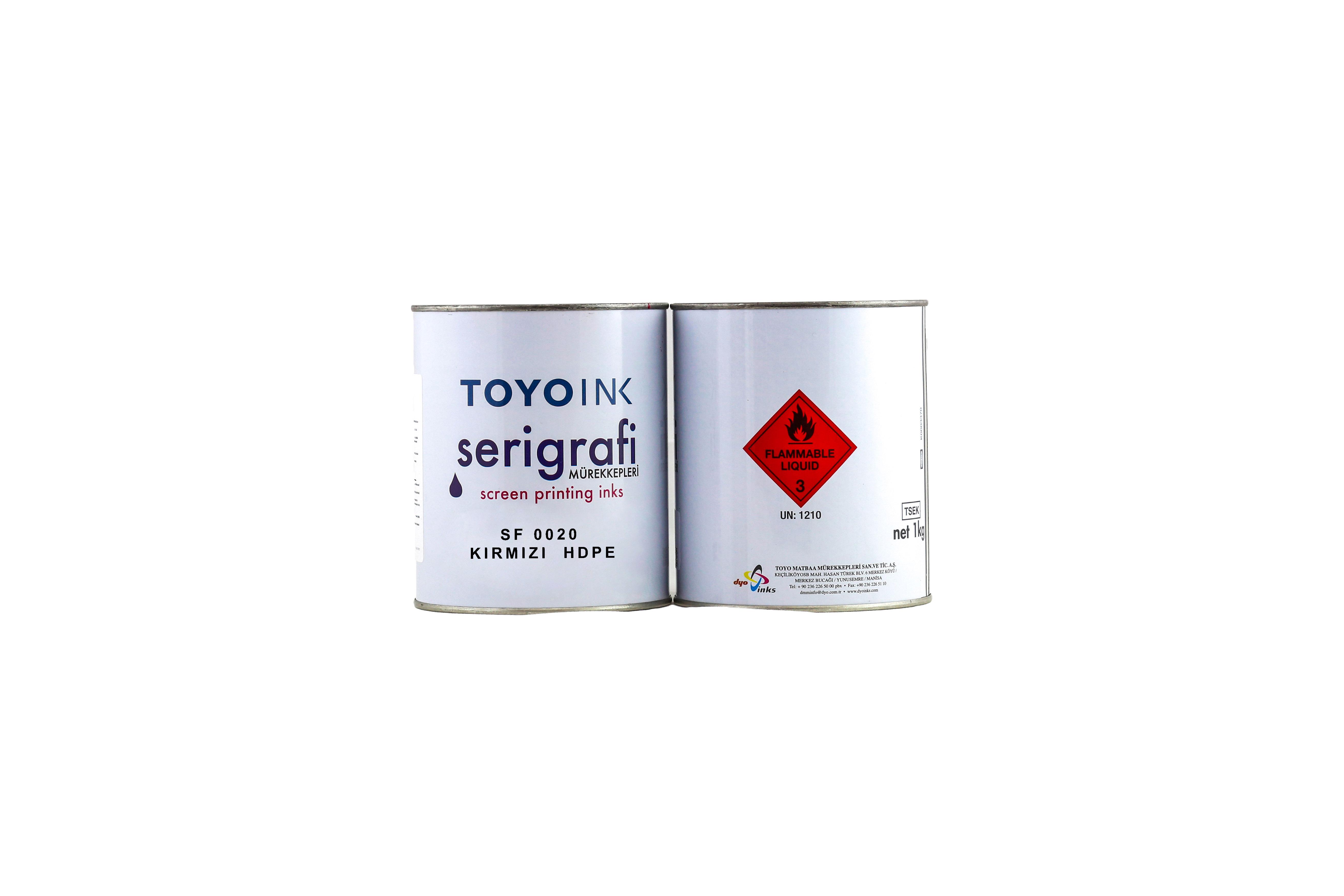 Toyo Ink - SF 0020 Kırmızı HDPE 1