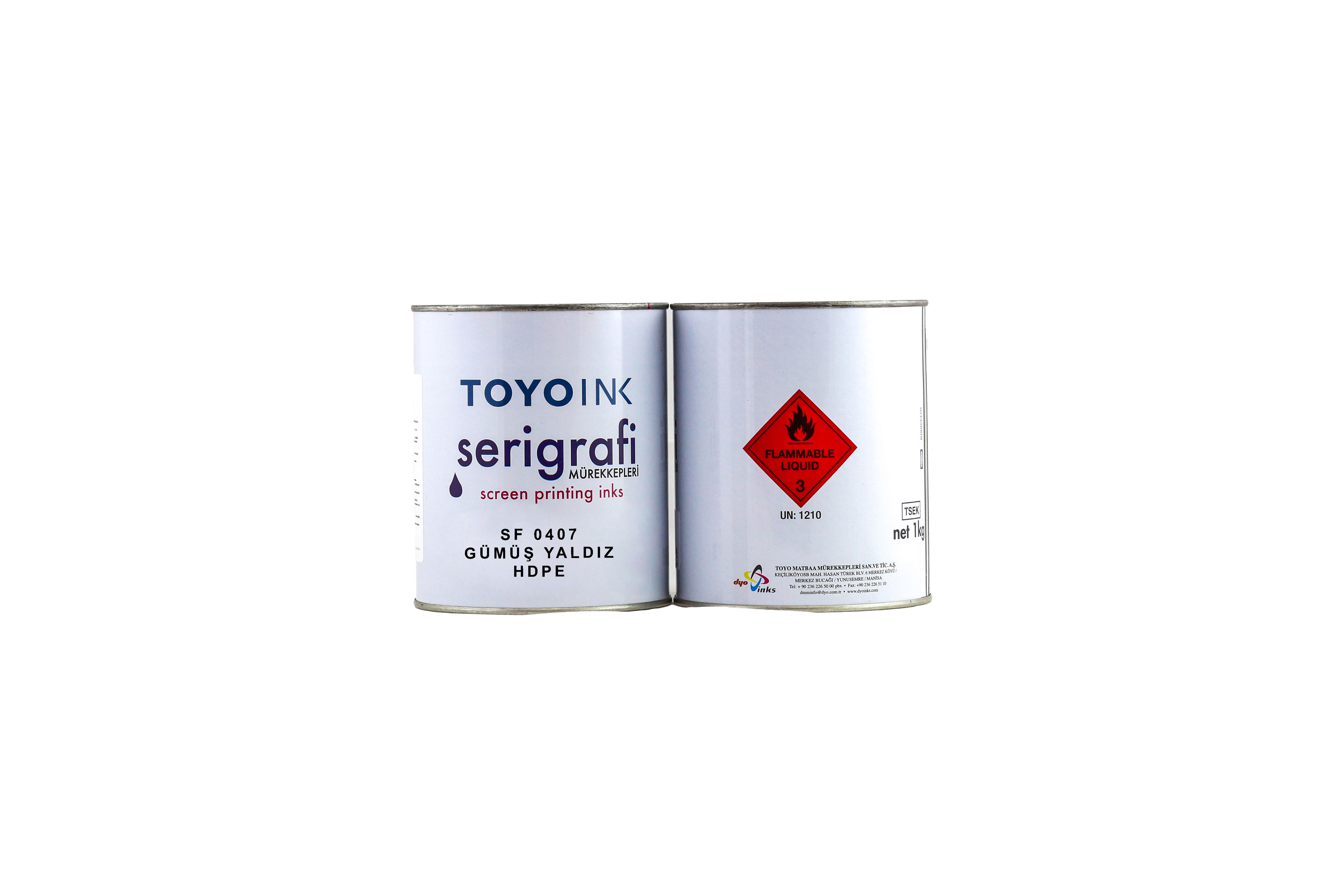 Toyo Ink - SF 0407 Gümüş Yaldız HDPE 1