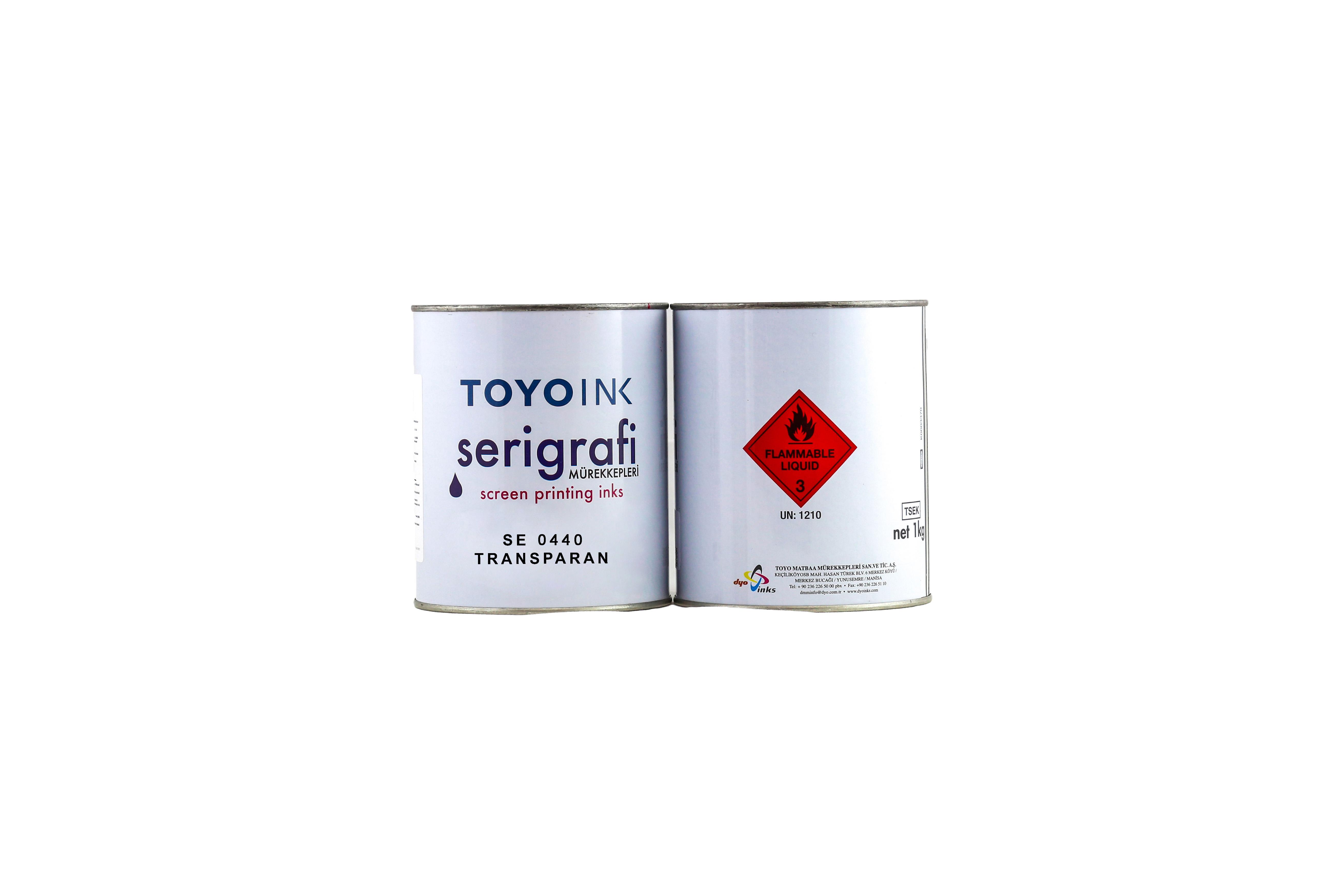 Toyo Ink - SE 0440 transparan 1