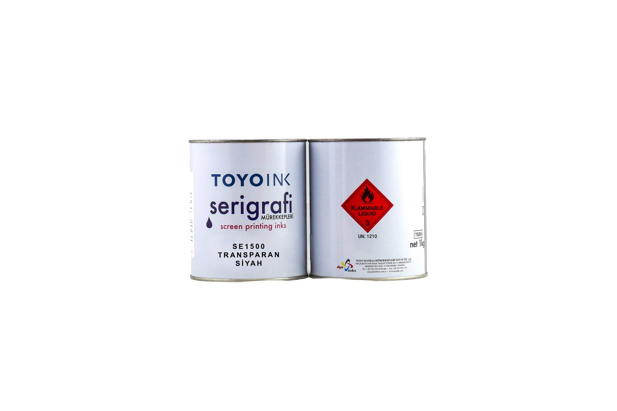 Toyo Ink - SE 1500 Transparan Siyah 1