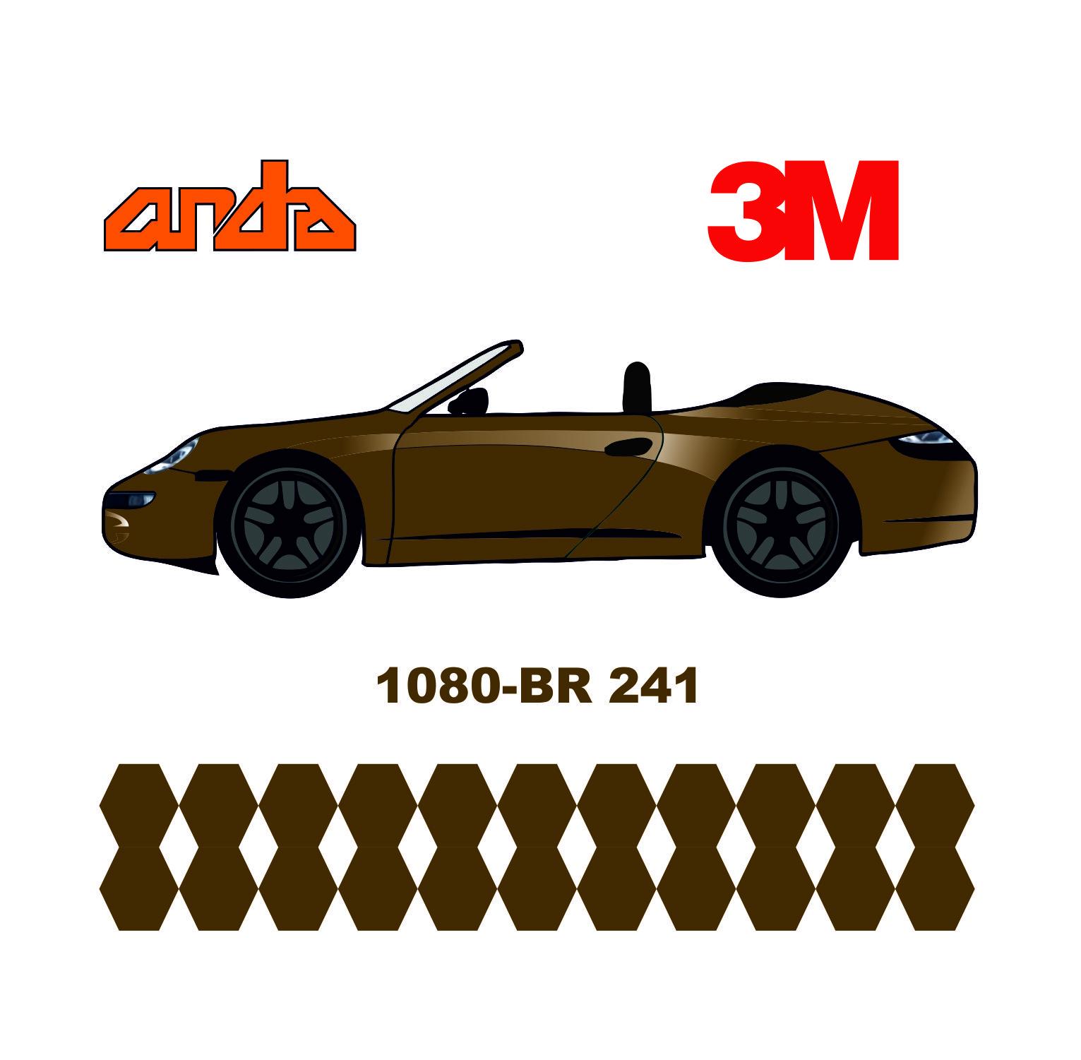 3M 1080-BR241 Fırçalanmış Altın 1