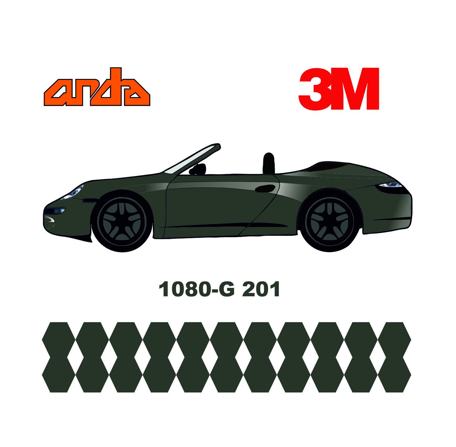 3M 1080-G201 Parlak Antrasit 1