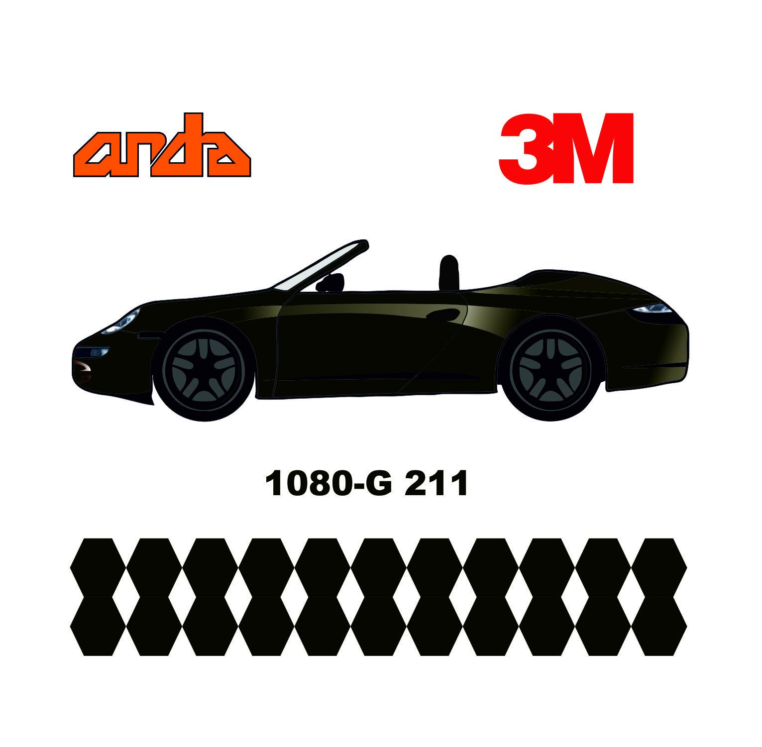 3M 1080-G211 Parlak Metalik Kömür 1
