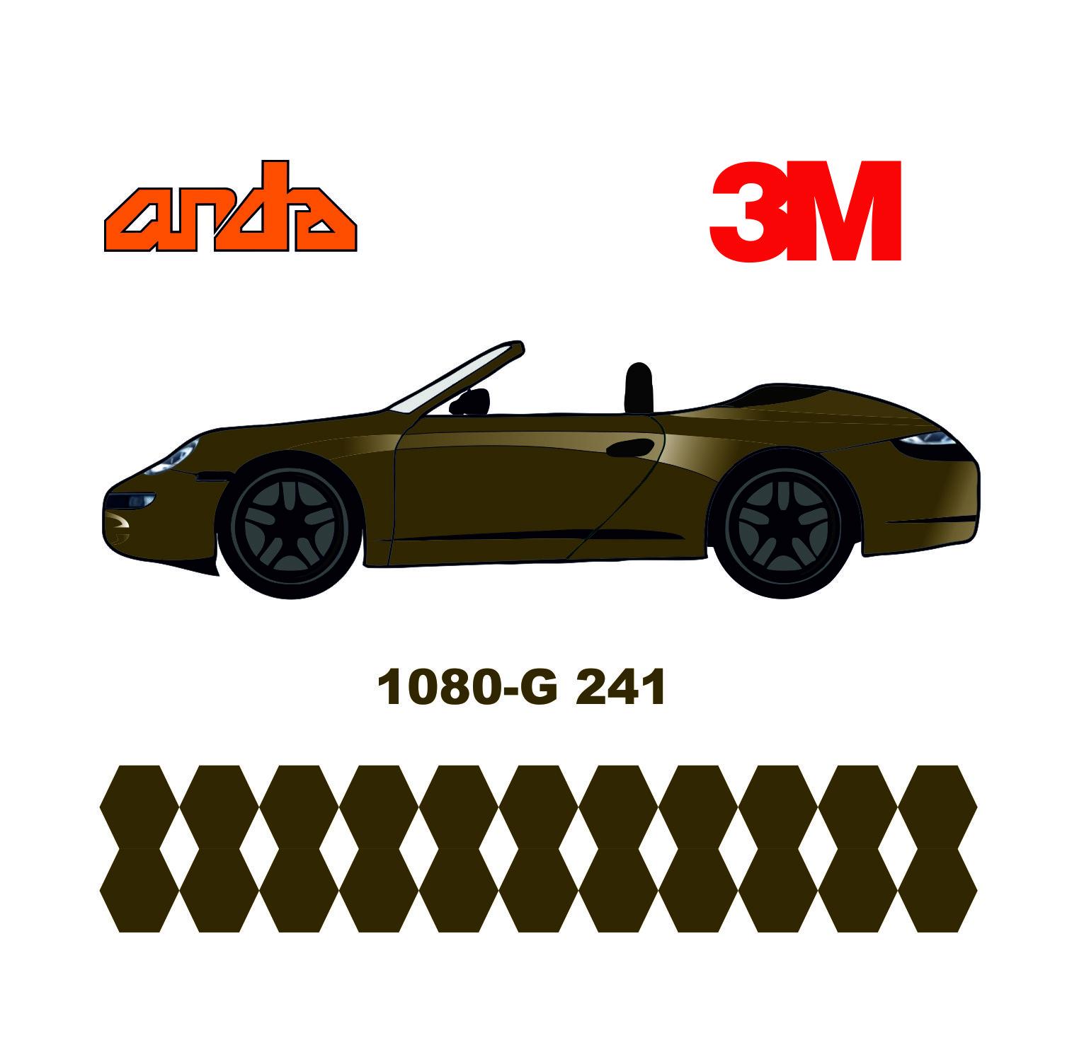 3M 1080-G241 Parlak Metalik Altın 1