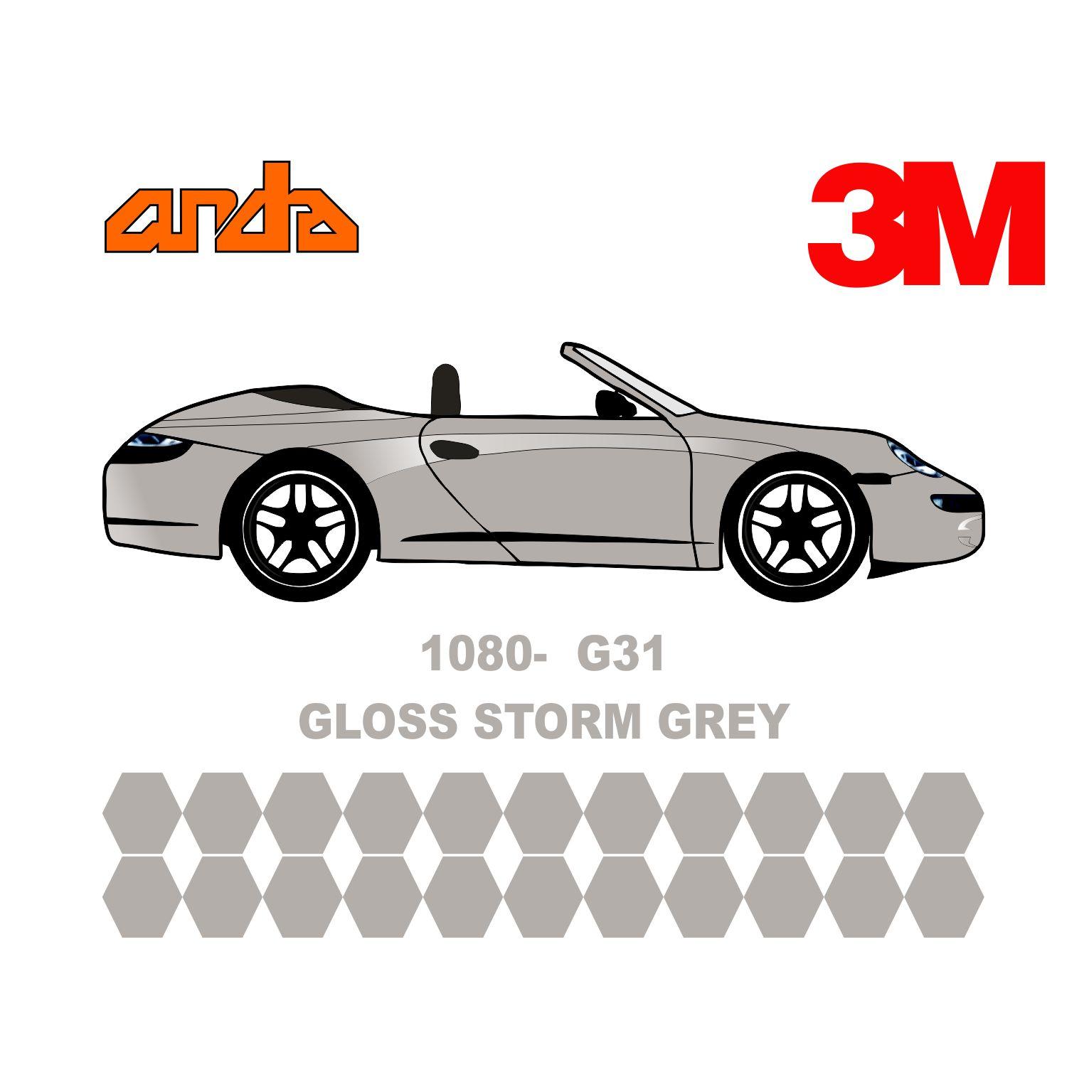 3M 1080-G31 Parlak Fırtına Gri 1