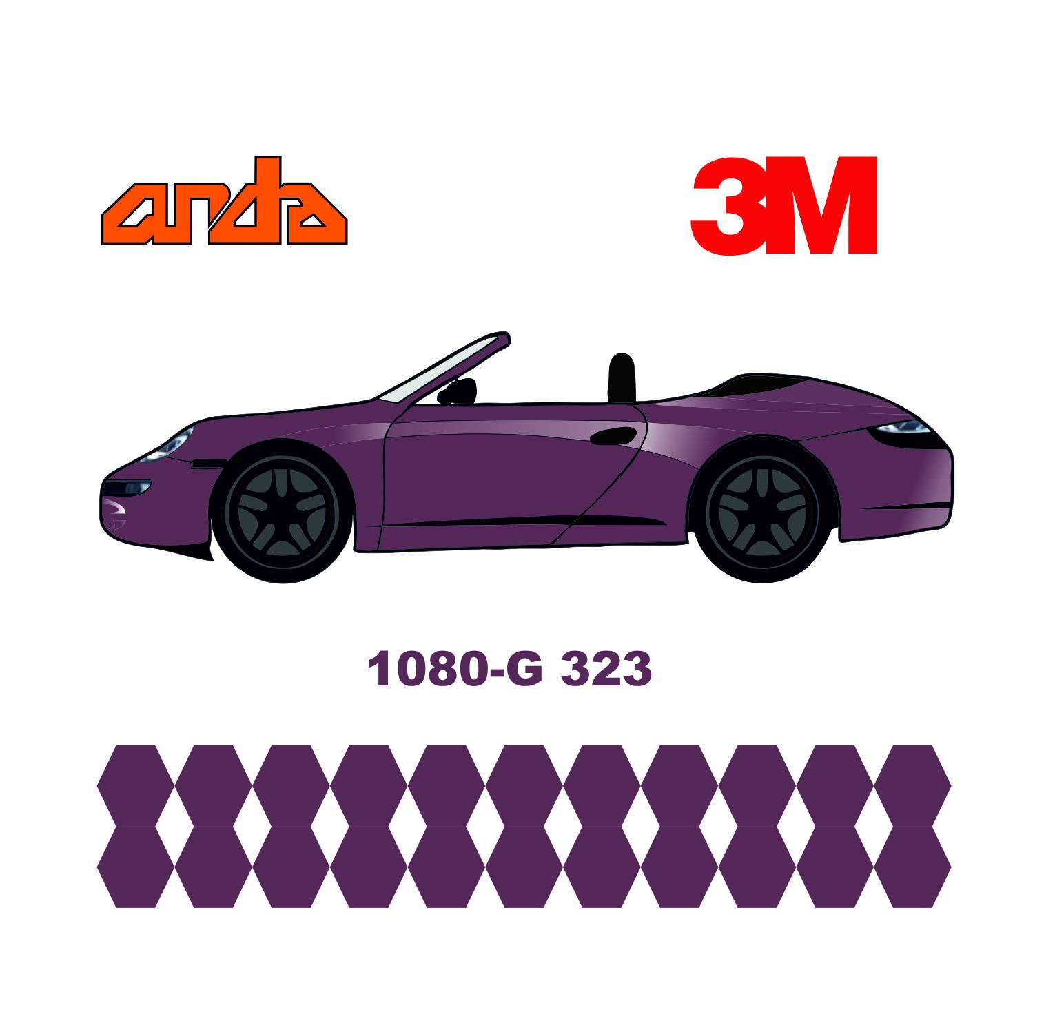 3M 1080-G323 Parlak Pembe Frambuaz 1