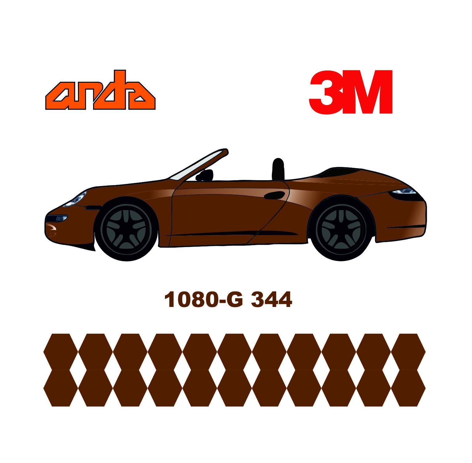 3M 1080-G344 Parlak Metalik Bronz 1