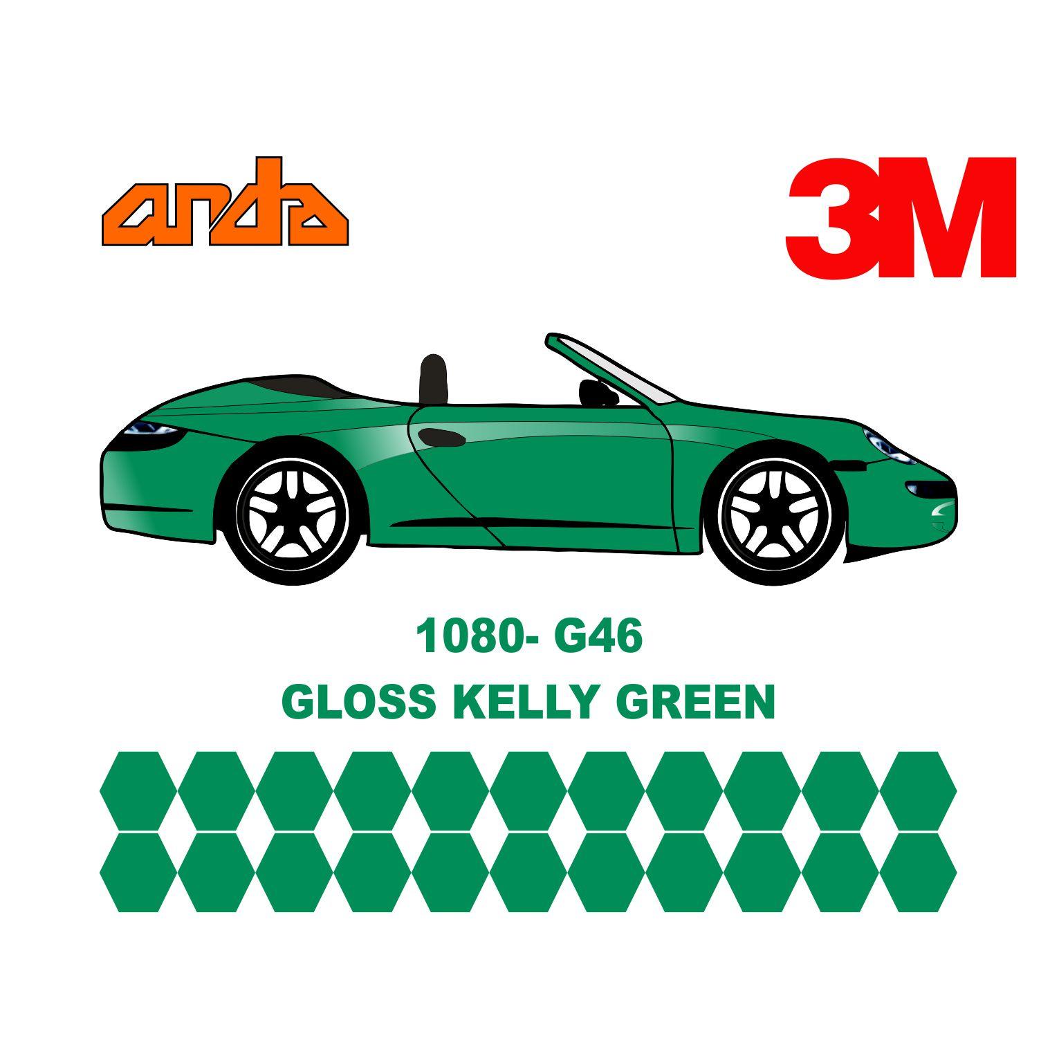 3M 1080-G46 Parlak Yeşil 1
