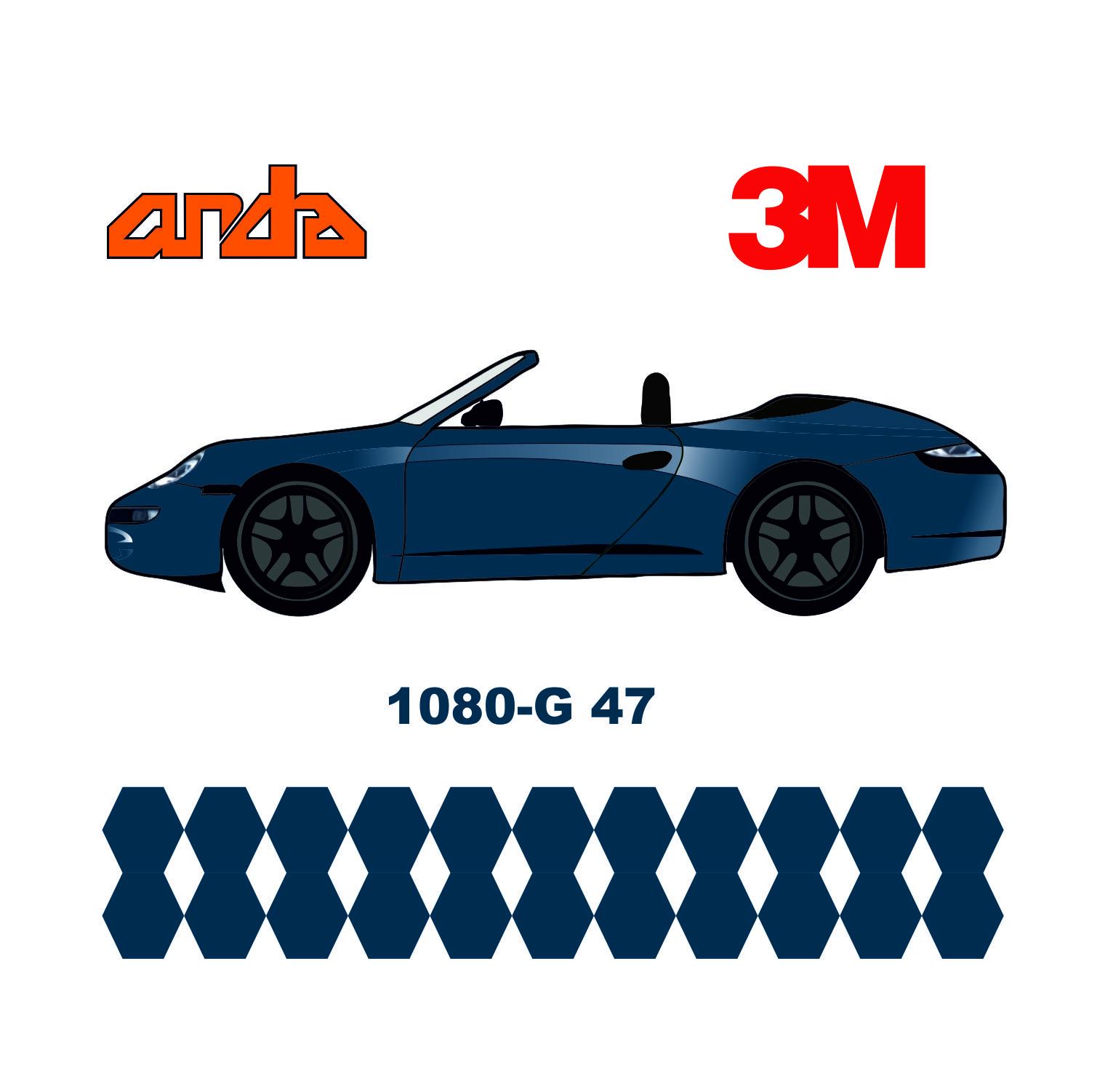 3M 1080-G47 Parlak Koyu Mavi 1