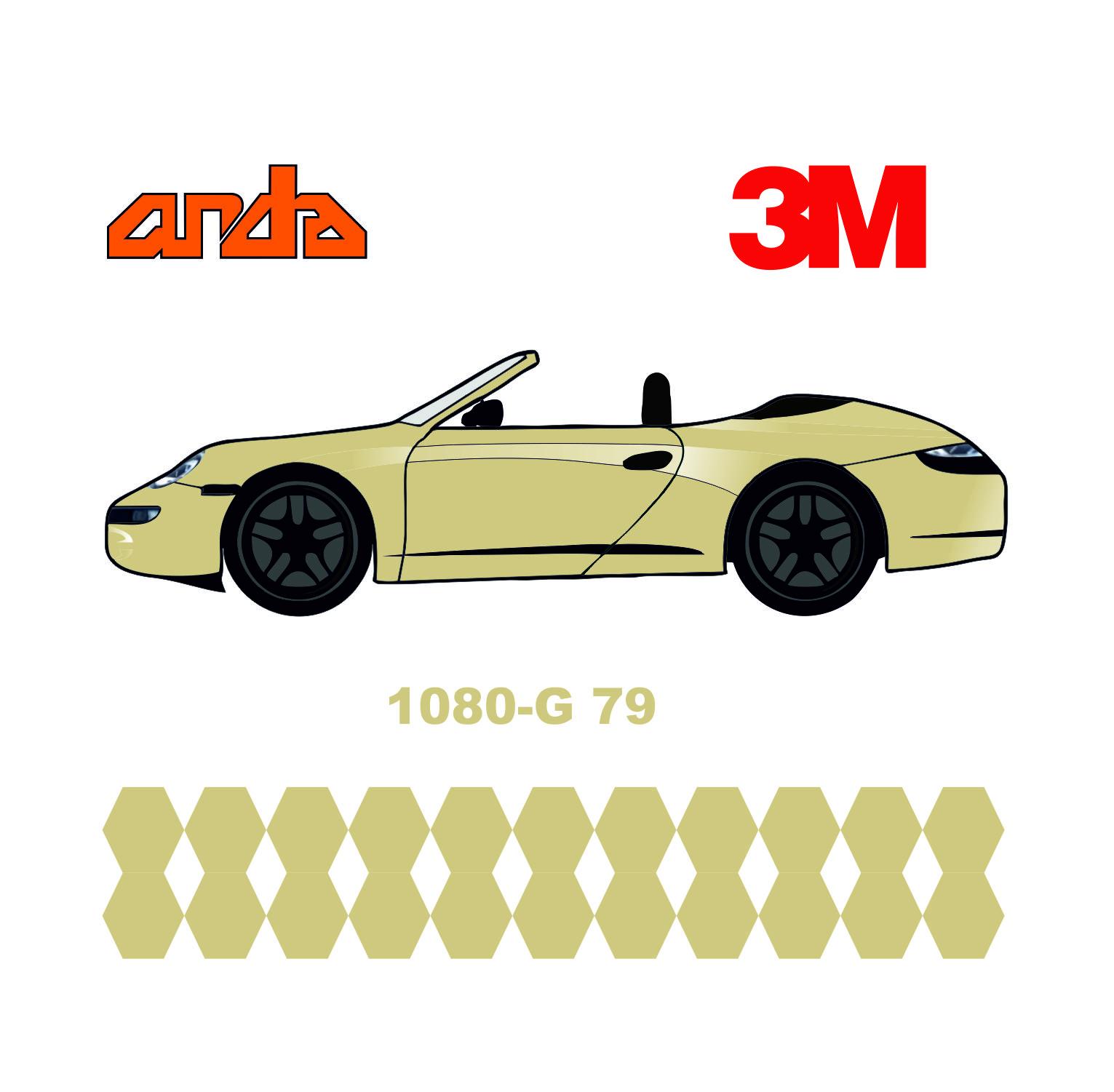 3M 1080-G79 Parlak Açık Fildişi 1