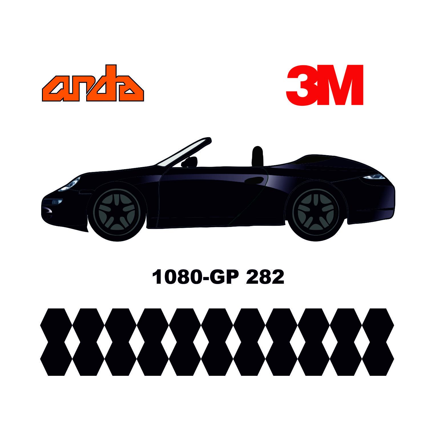 3M 1080-GP282 Parlak Kor Ateş Siyahı 1