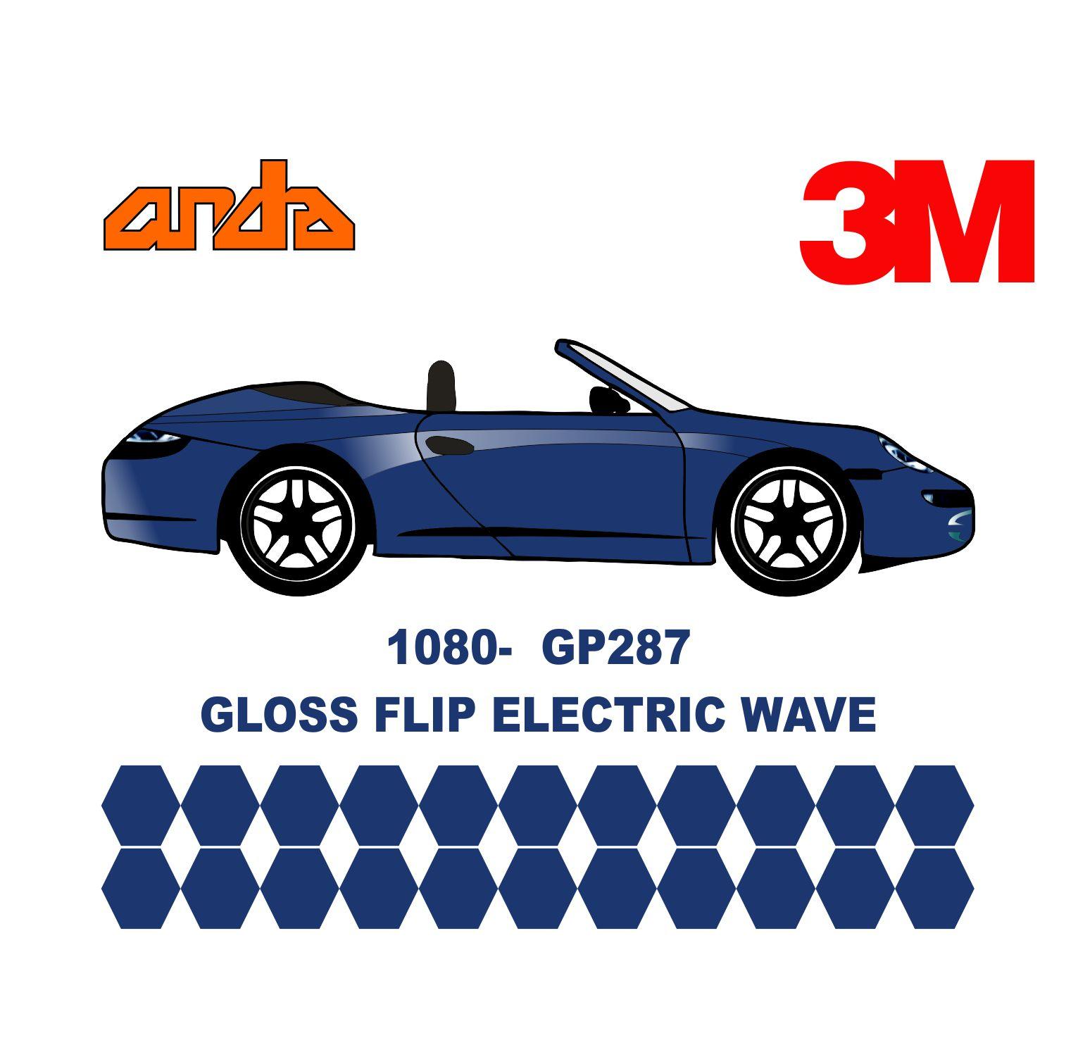 3M 1080-GP287 Gloss Flip Electric Wave 1