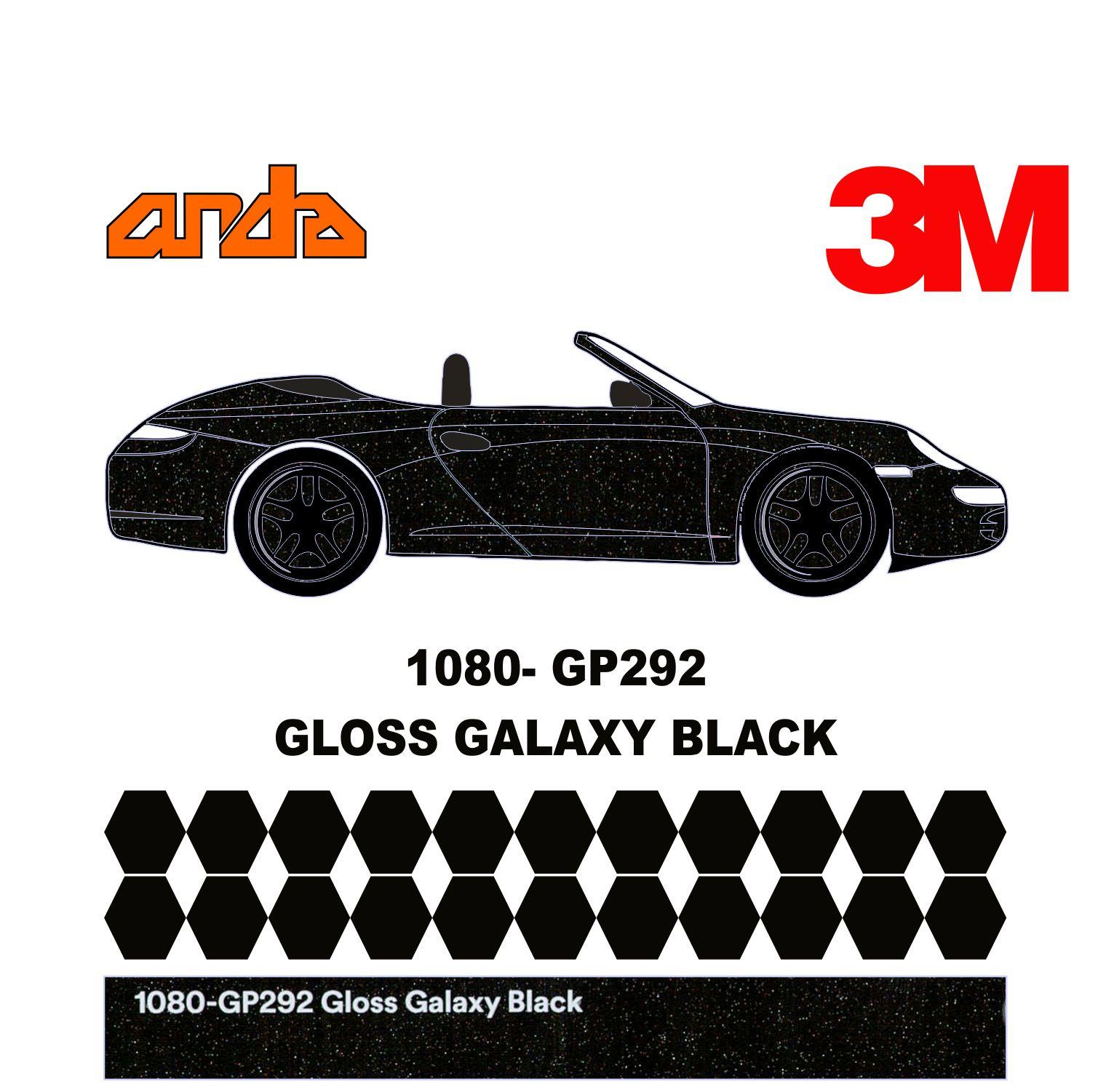 3M 1080-G292 Parlak Galaxy Black 1
