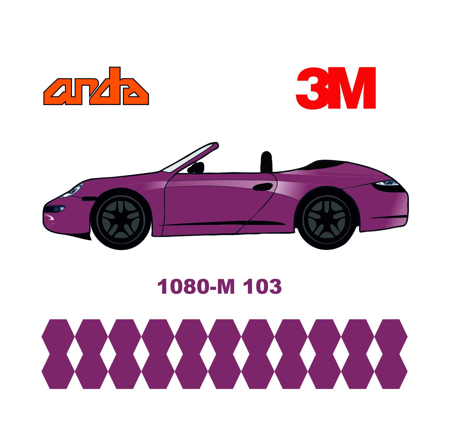 3M 1080-M103 Mat Pembe 1