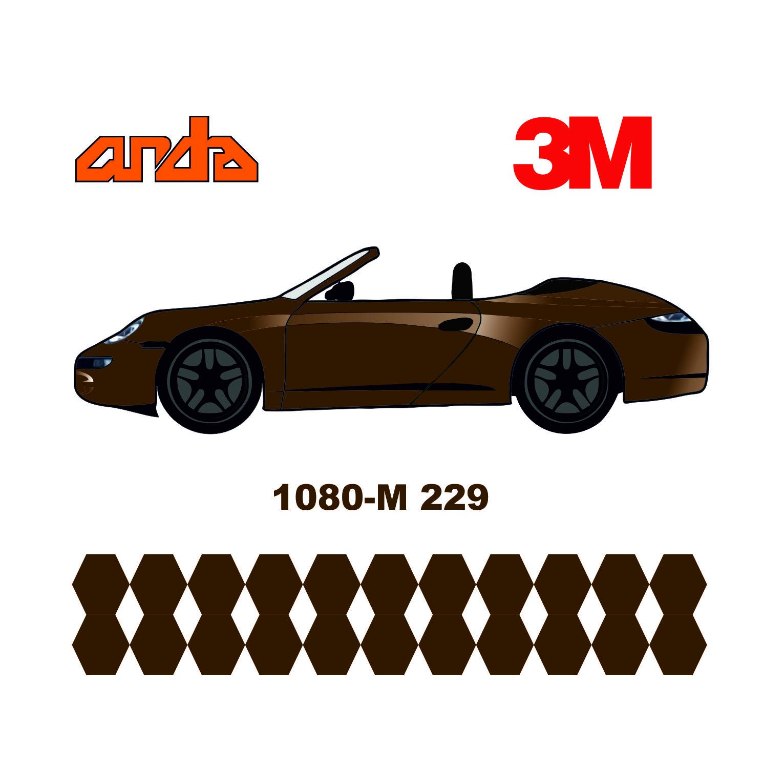 3M 1080-M229 Mat Metalik Bronz 1