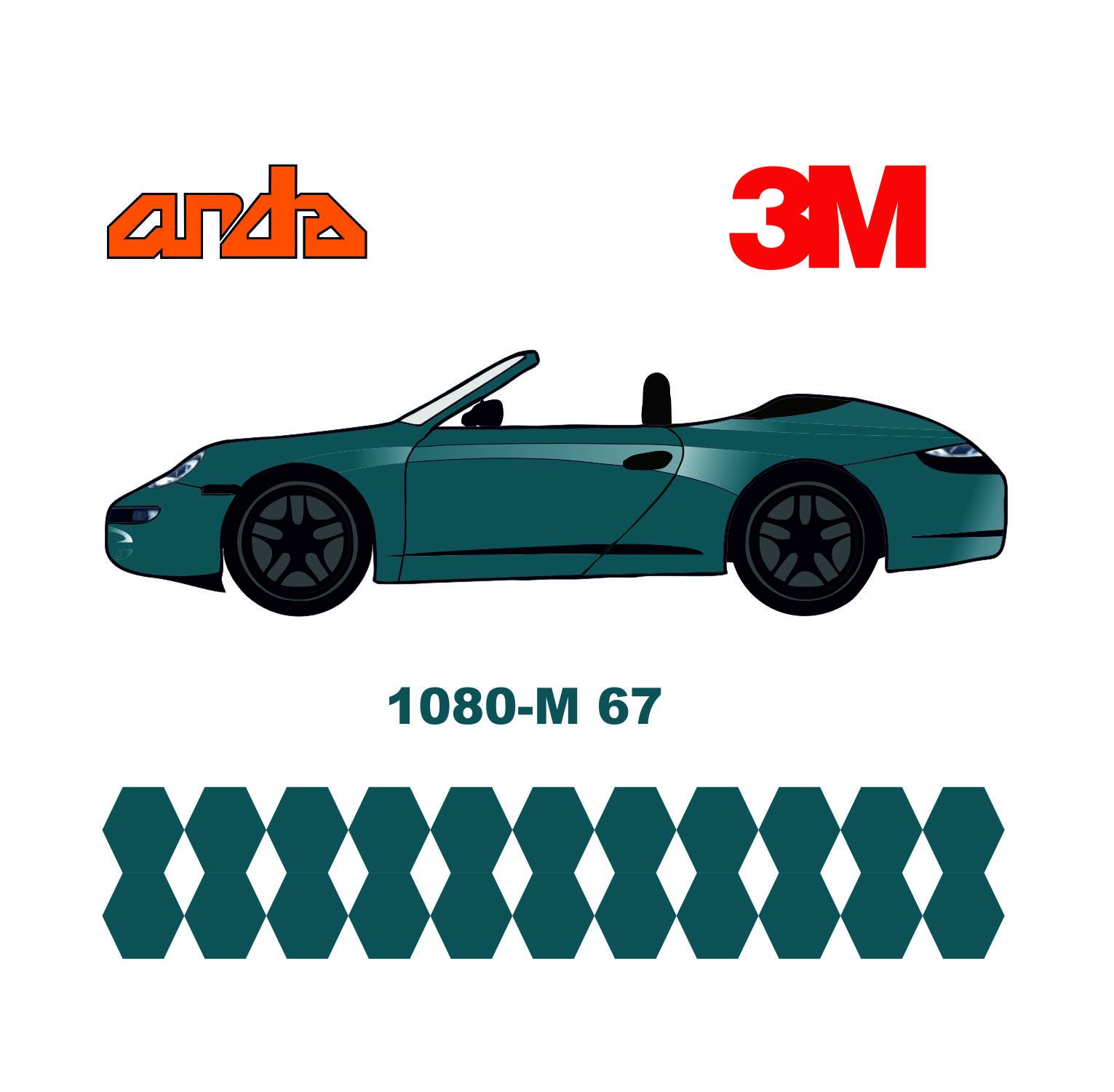 3M 1080-M67 Mat Riviera Mavi 1