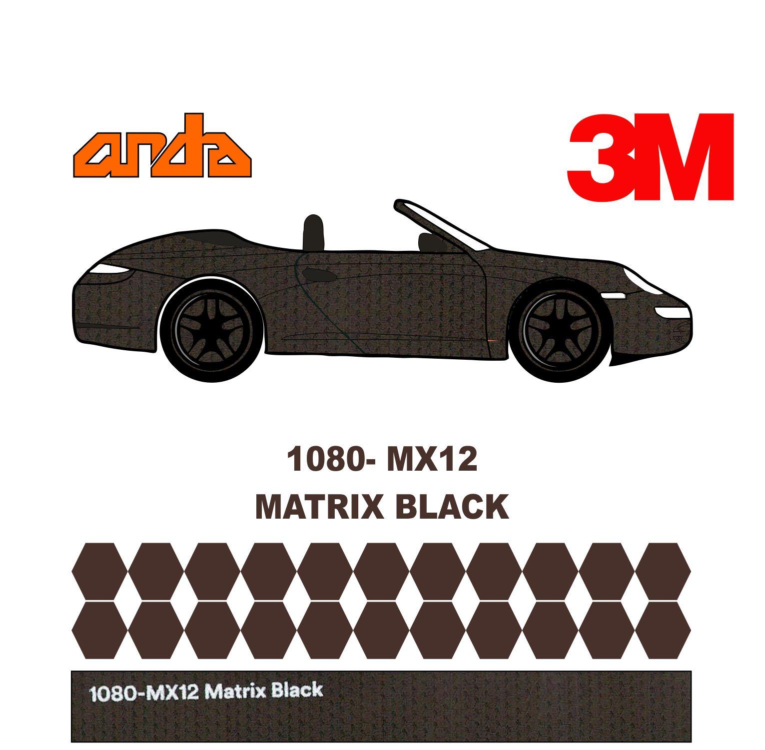 3M 1080-MX12 Matrix Black 1