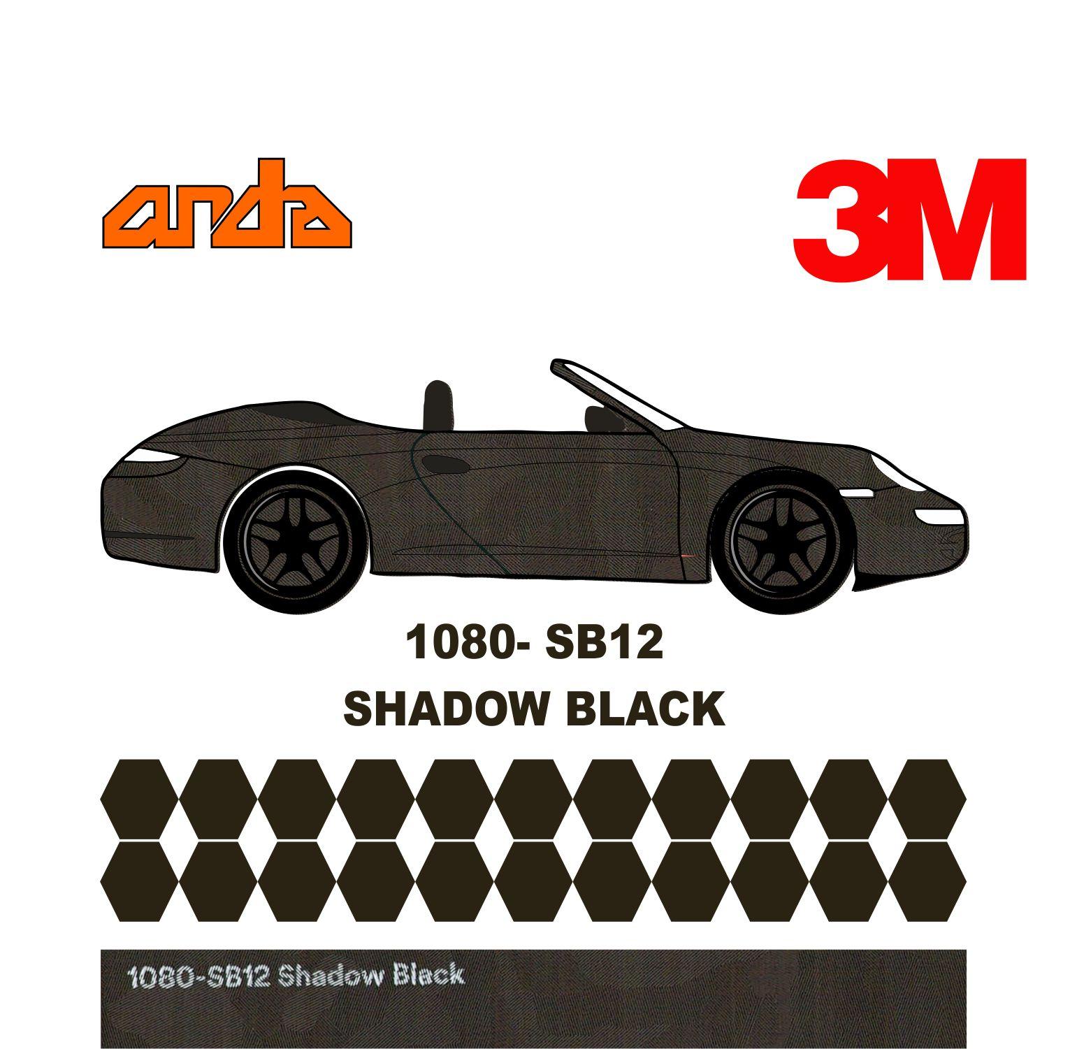 3M 1080-SB12 Shadow Black 1