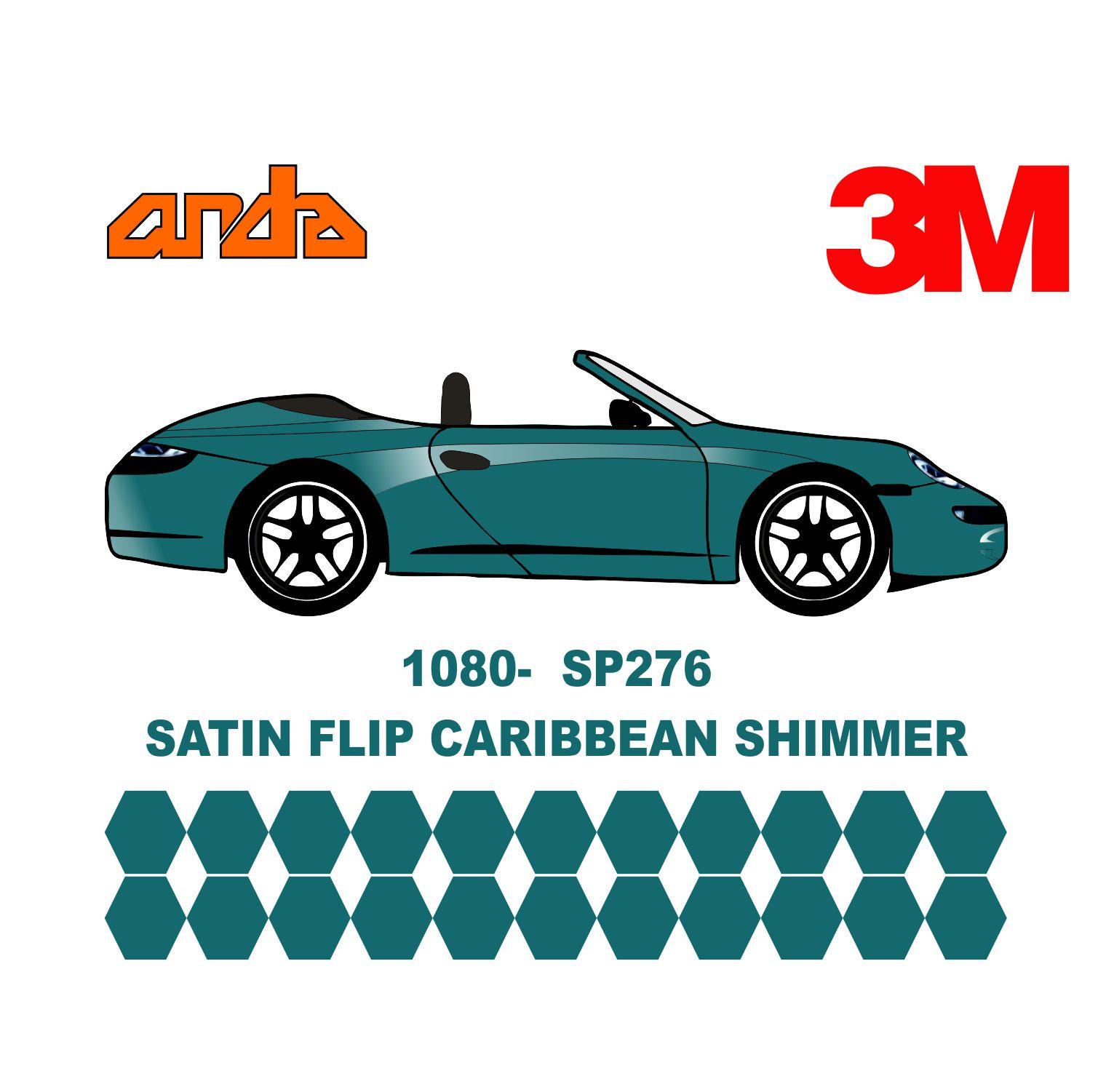 3M 1080-S276 Satin Flip Caribean Shimmer 1