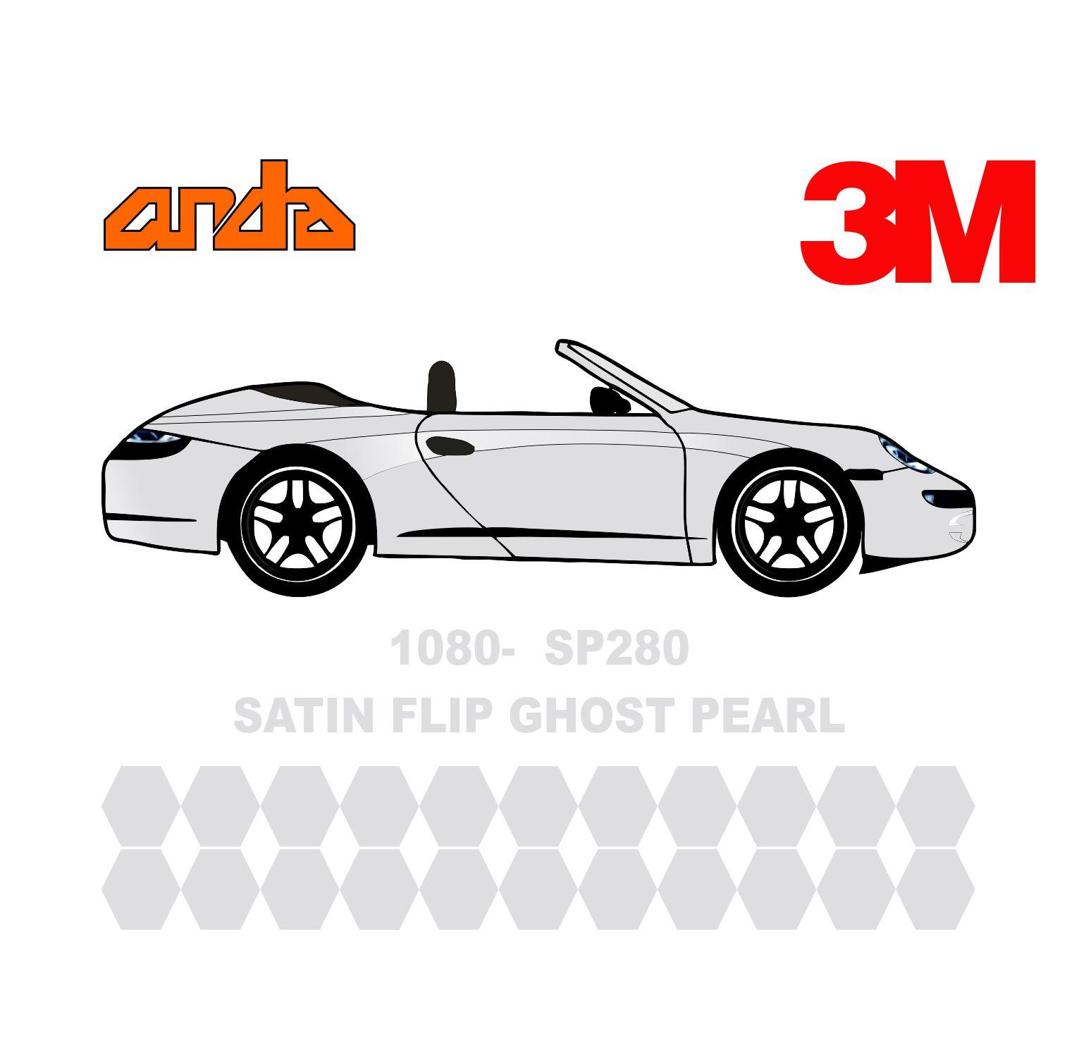 3M 1080-SP280 Satin Flip Ghost Pearl 1
