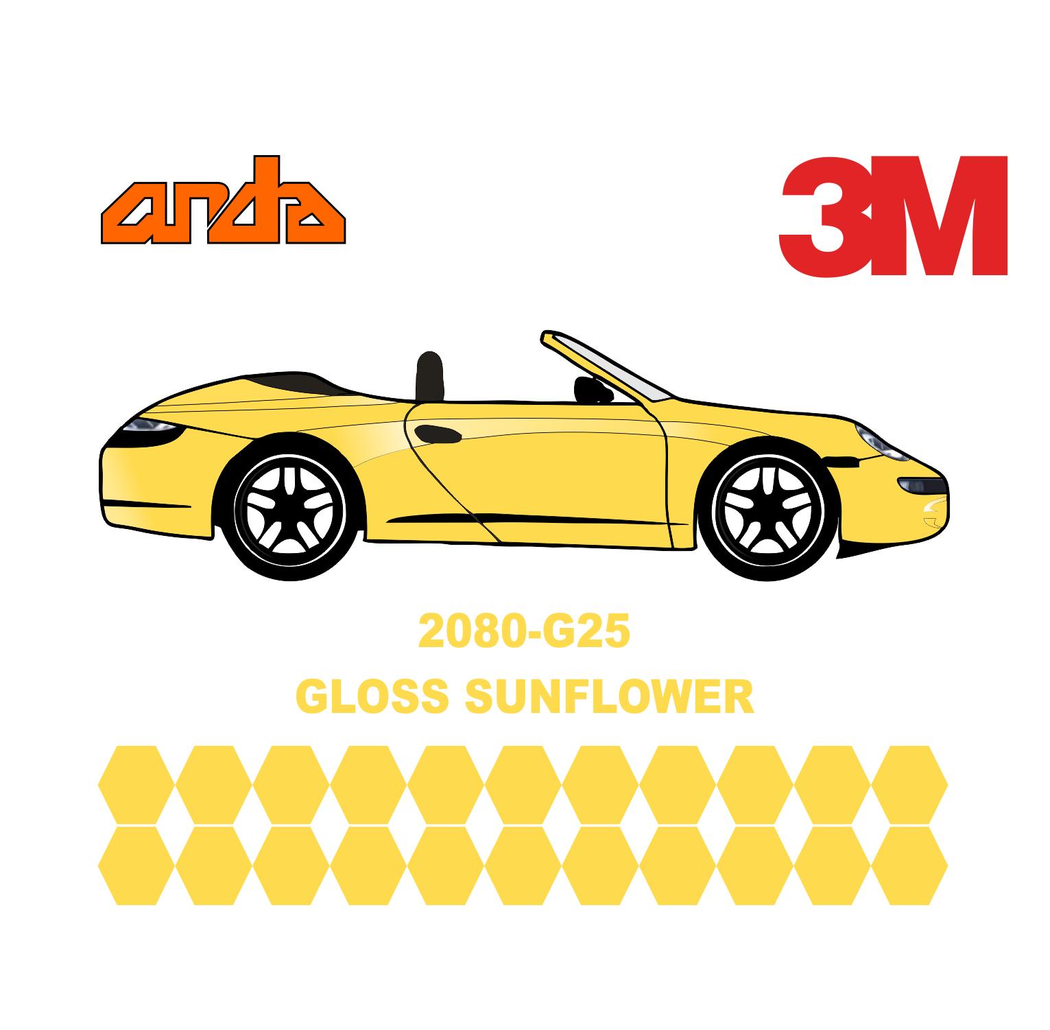 3M 2080-G25 Sunflower 1